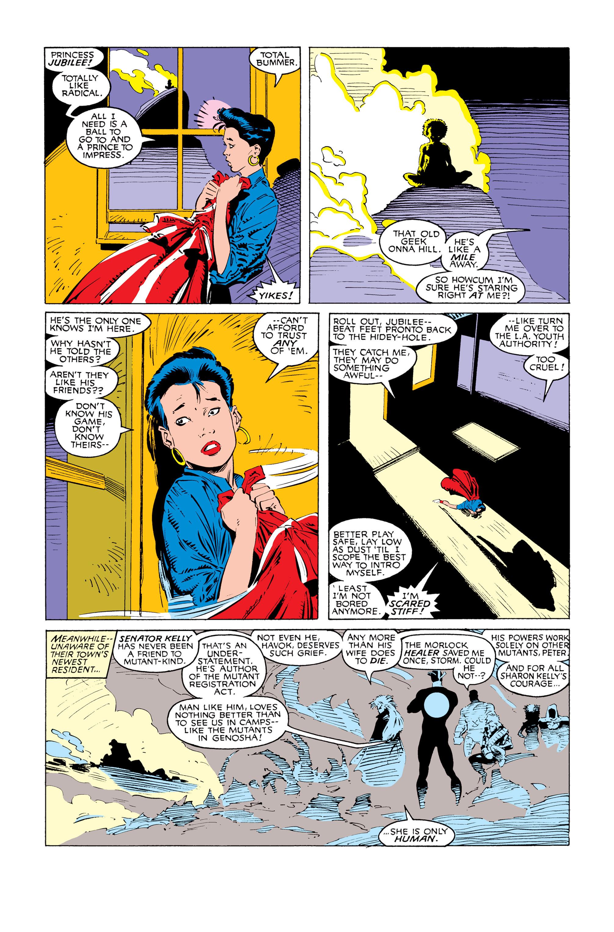 Read online Uncanny X-Men (1963) comic -  Issue #247 - 11