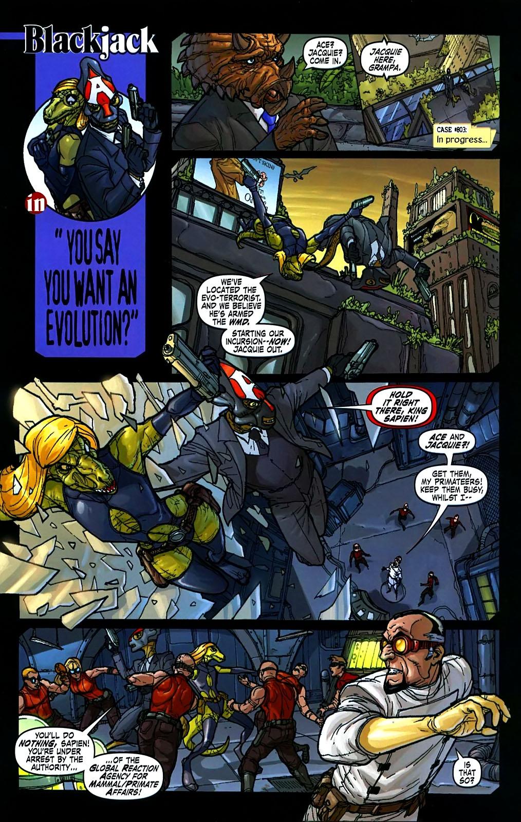 Read online Amazing Fantasy (2004) comic -  Issue #15 - 31