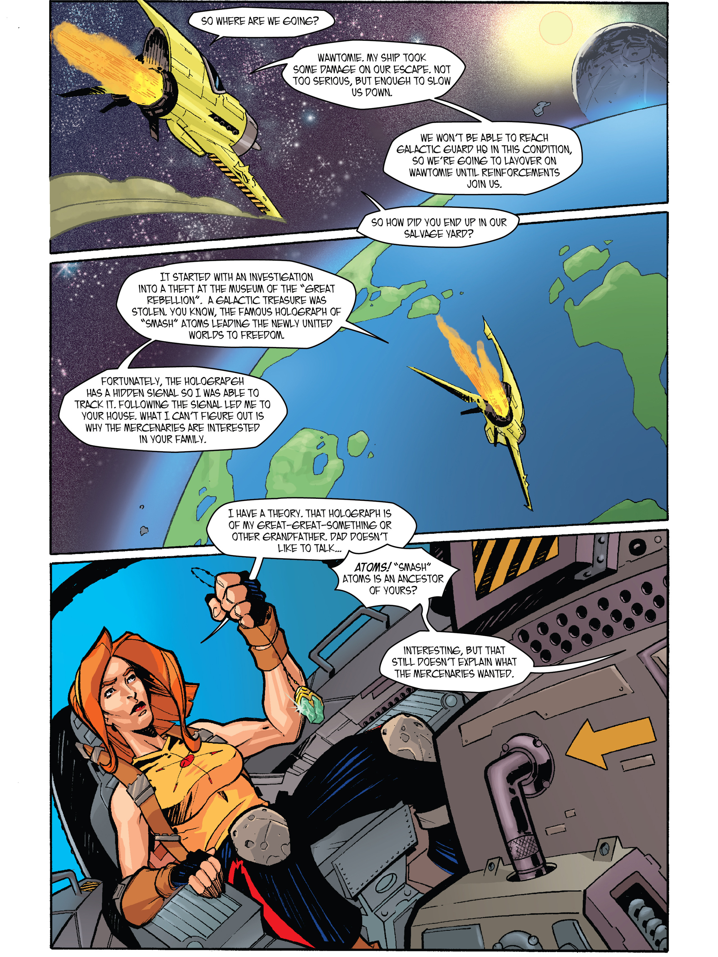 Read online Amber Atoms comic -  Issue #2 - 11