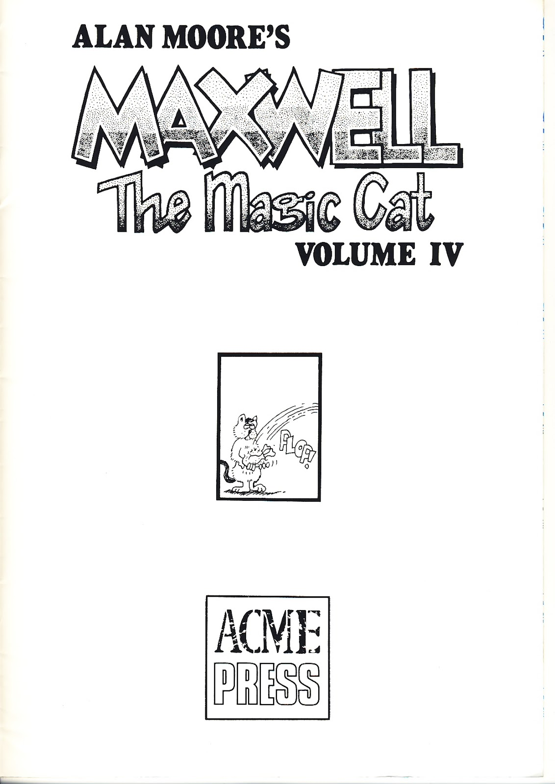 Read online Alan Moore's Maxwell the Magic Cat comic -  Issue #4 - 5