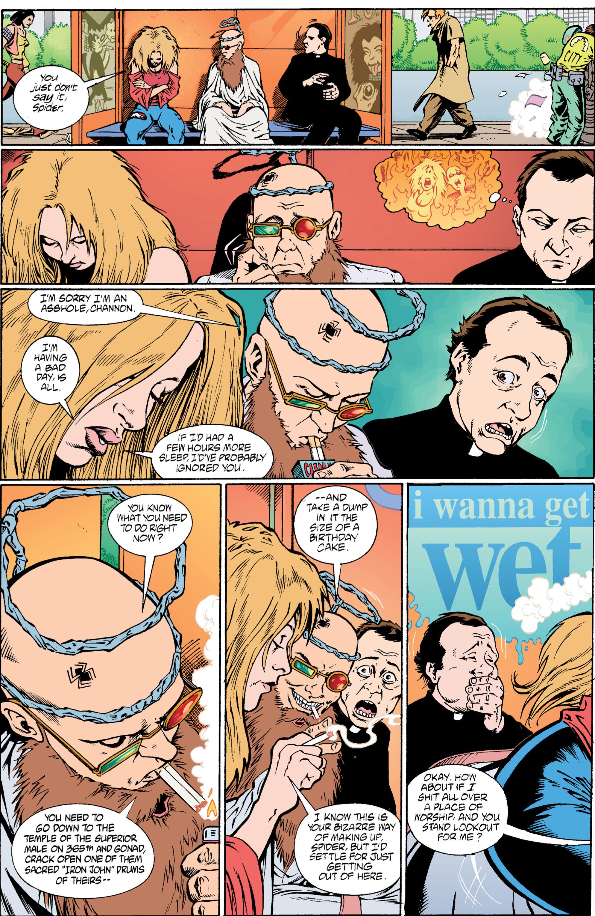Read online Transmetropolitan comic -  Issue #6 - 12
