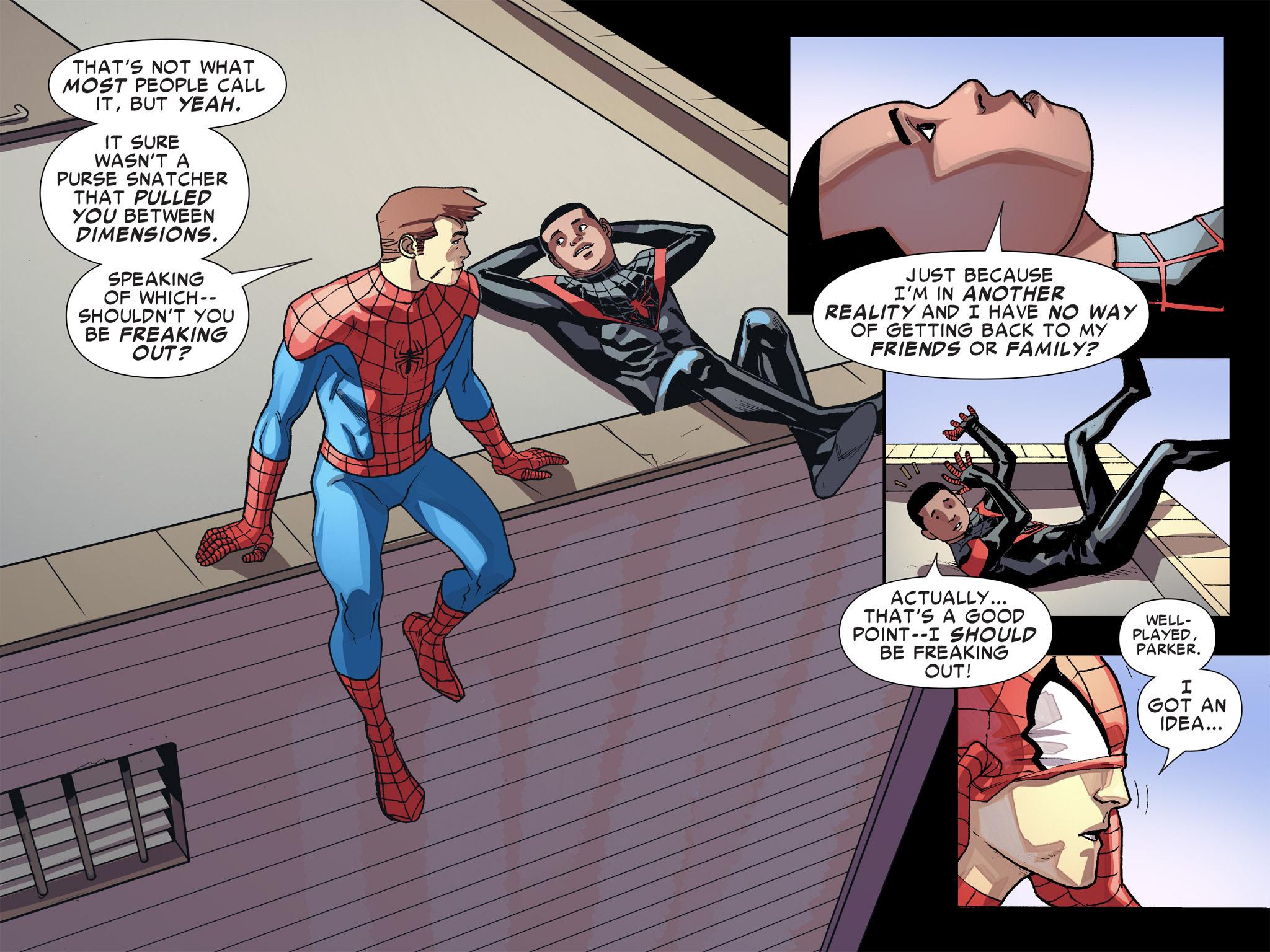 Read online Ultimate Spider-Man (Infinite Comics) (2016) comic -  Issue #8 - 20