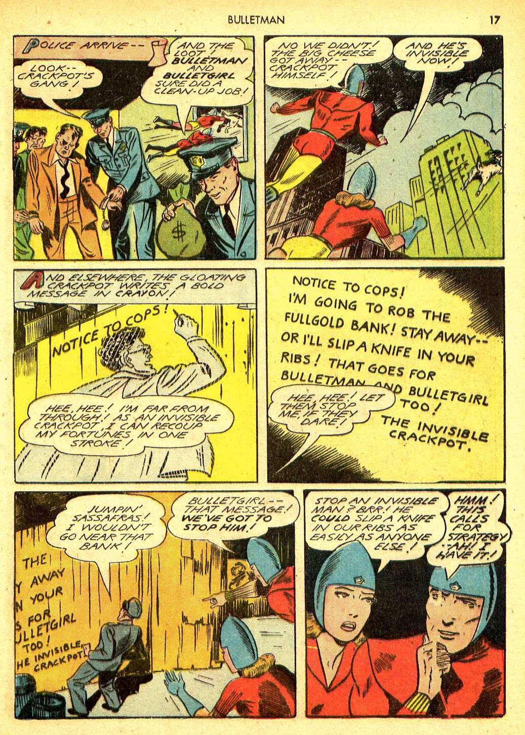 Bulletman issue 12 - Page 16