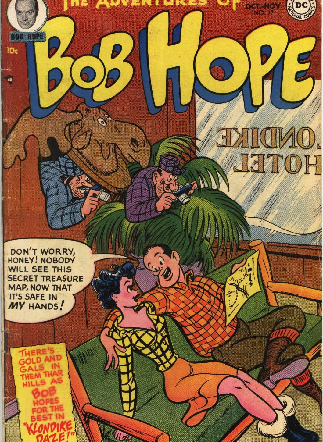 The Adventures of Bob Hope issue 17 - Page 1