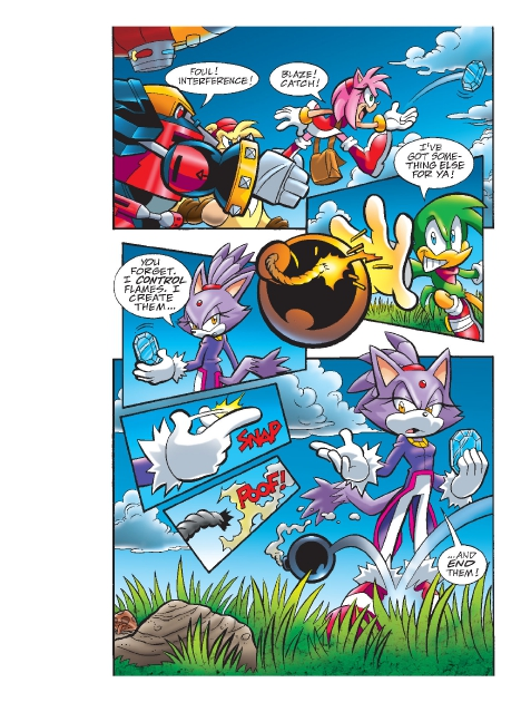 Read online Sonic Comics Spectacular: Speed of Sound comic -  Issue # Full - 201
