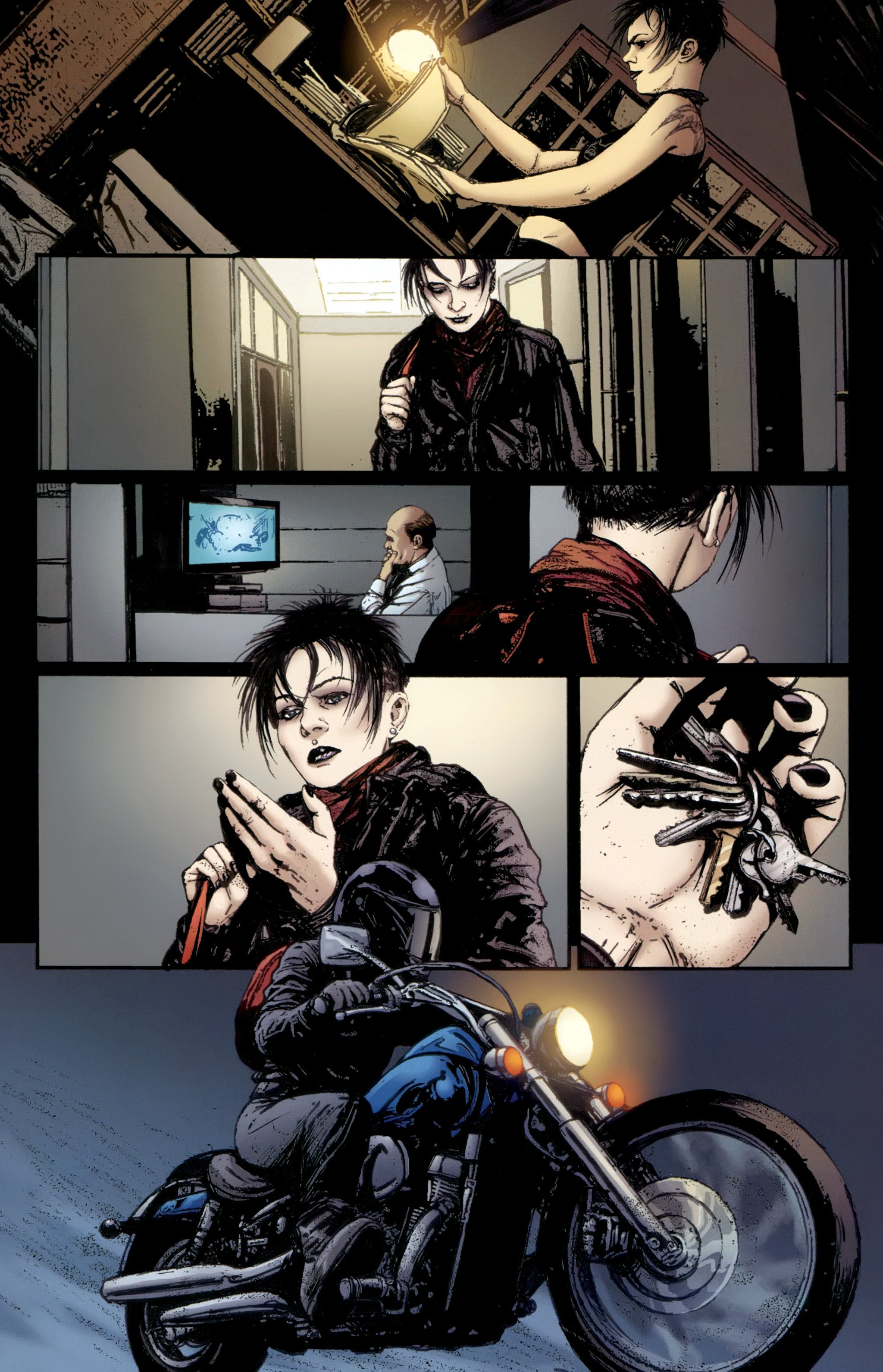 Read online The Girl With the Dragon Tattoo comic -  Issue # TPB 2 - 90