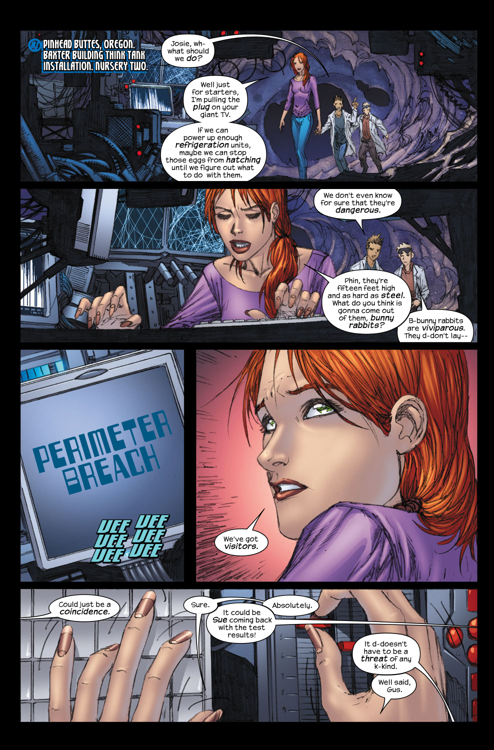 Read online Ultimate Fantastic Four (2004) comic -  Issue #57 - 3