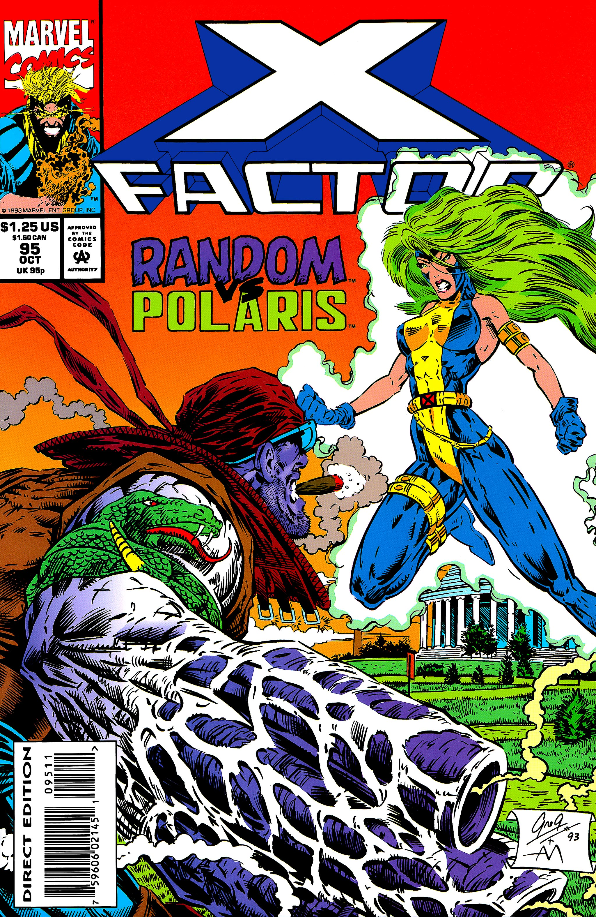 Read online X-Factor (1986) comic -  Issue #95 - 1