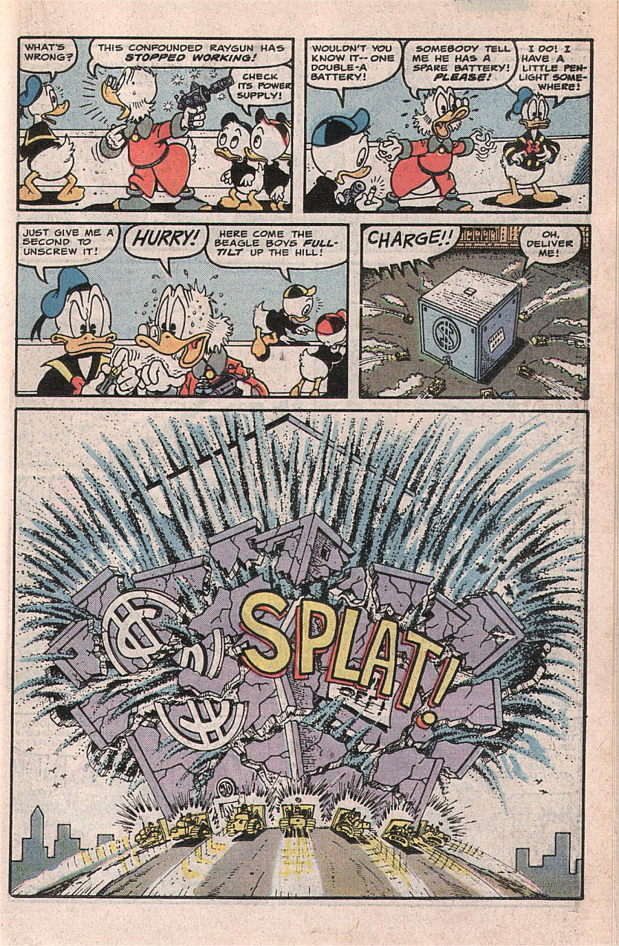 Read online Uncle Scrooge (1953) comic -  Issue #224 - 23