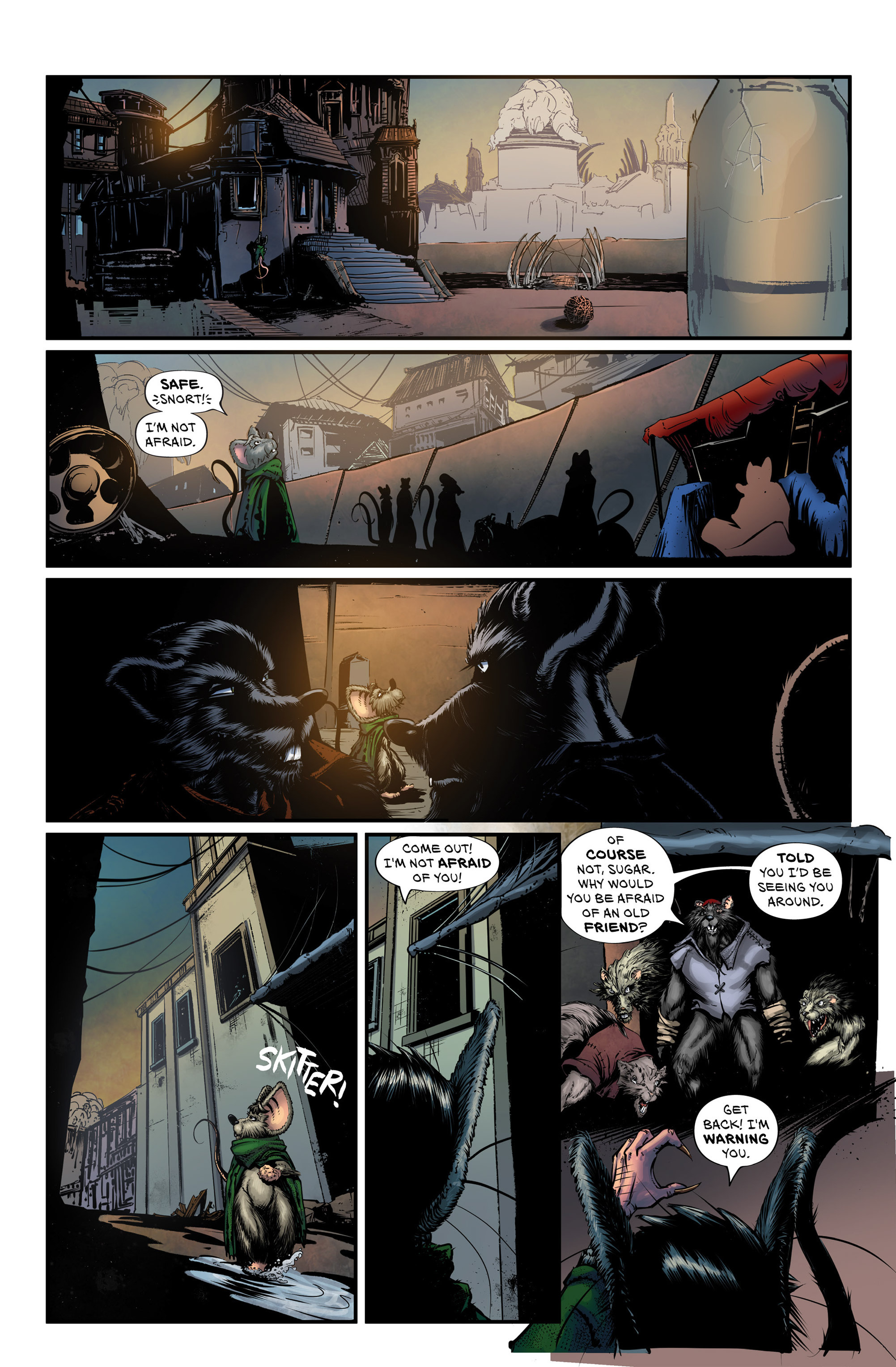 Read online Wretched Things comic -  Issue #3 - 15