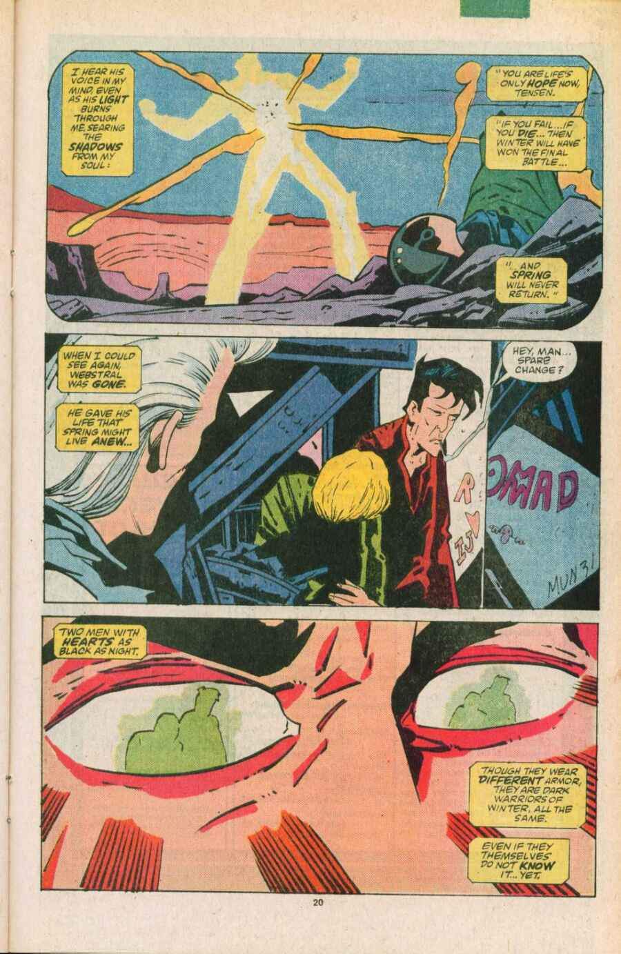 Read online Justice (1986) comic -  Issue #11 - 21
