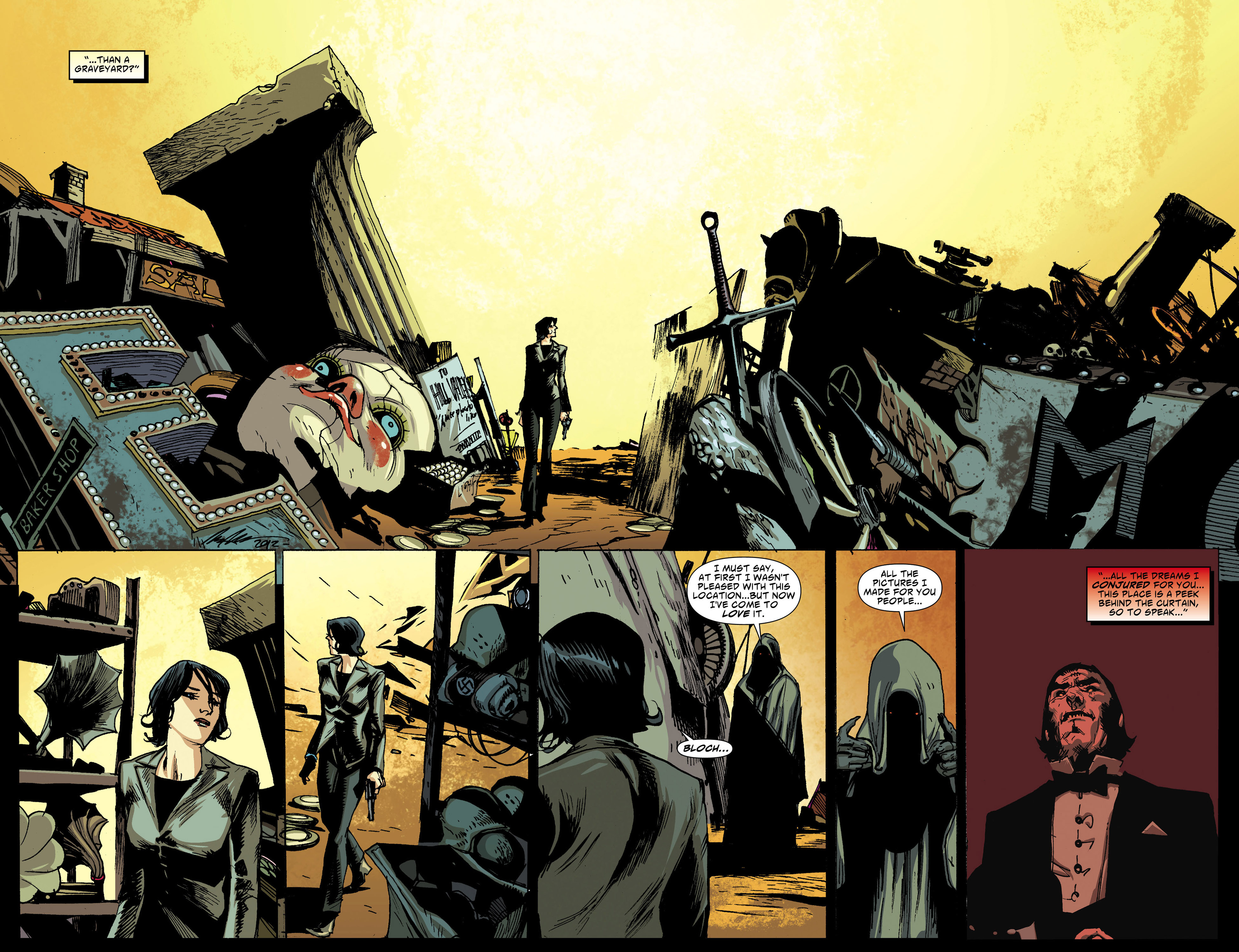 Read online American Vampire comic -  Issue #31 - 16