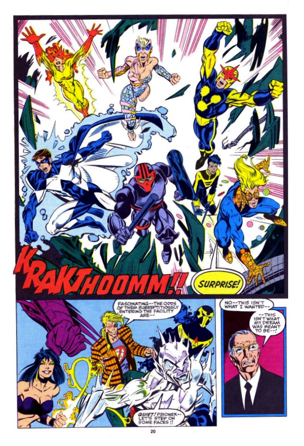 The New Warriors Issue #15 #19 - English 16