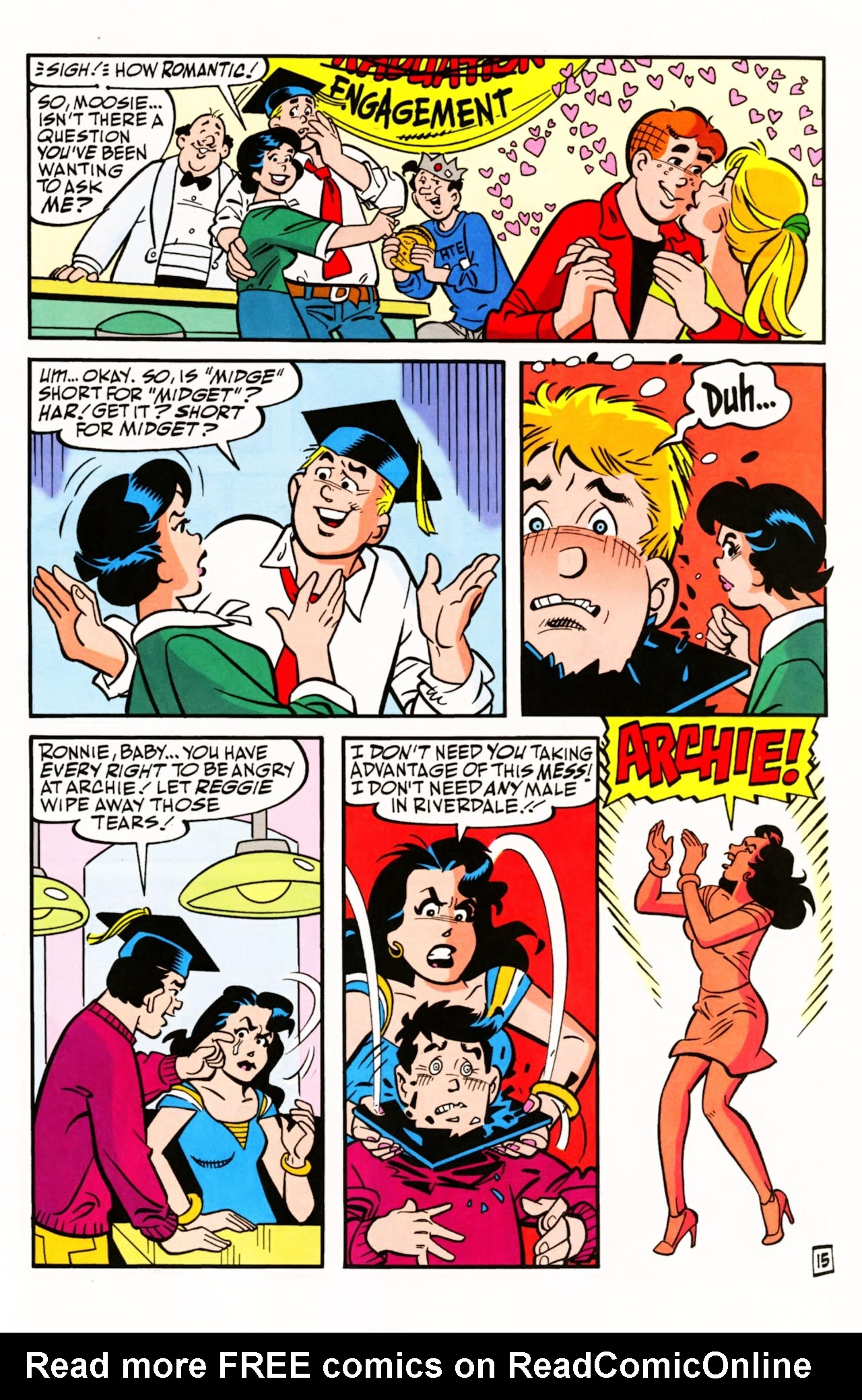 Read online Archie (1960) comic -  Issue #603 - 22
