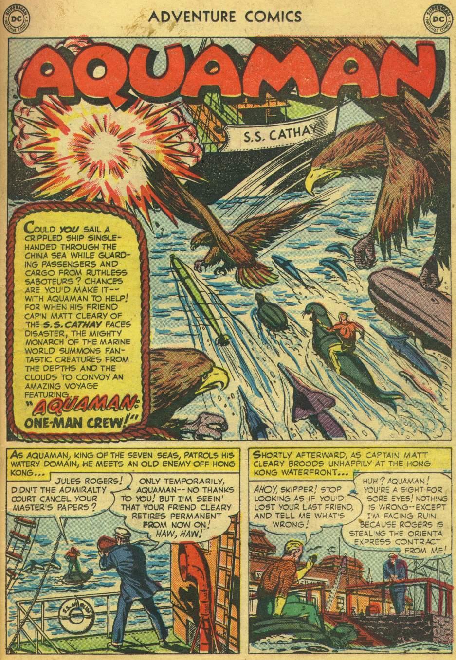 Read online Adventure Comics (1938) comic -  Issue #168 - 17