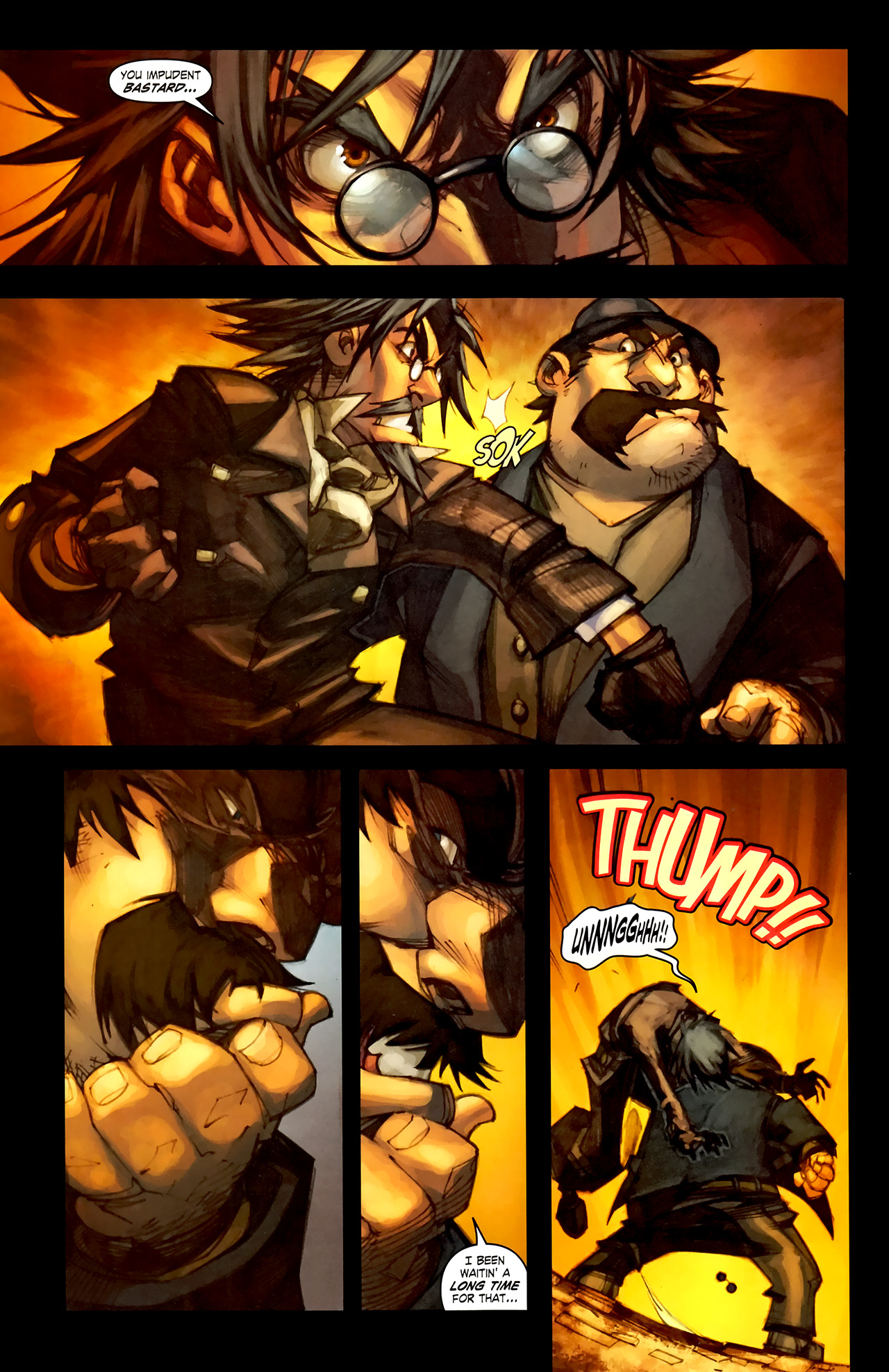 Read online World of Warcraft: Curse of the Worgen comic -  Issue #1 - 8