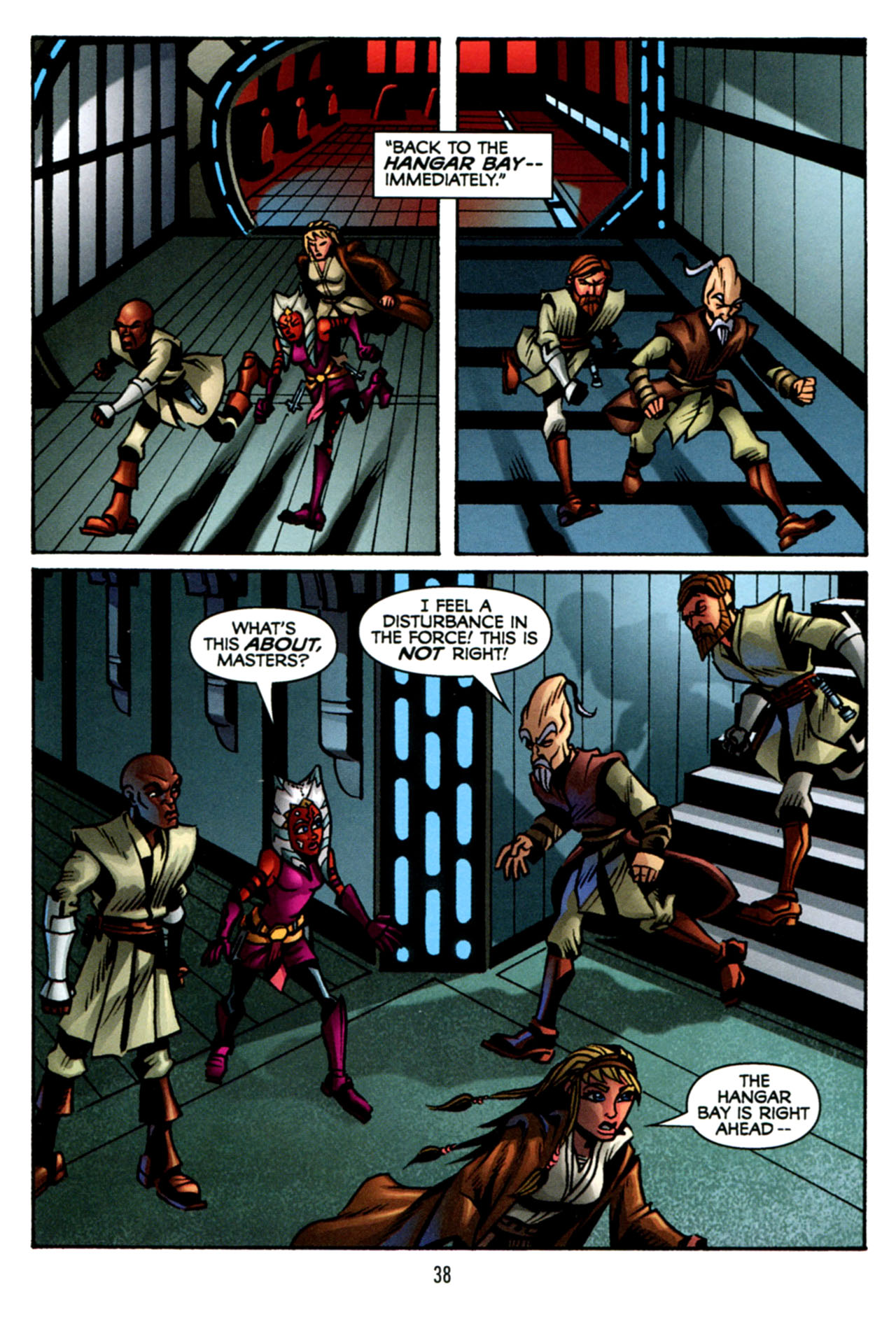 Read online Star Wars: The Clone Wars - The Starcrusher Trap comic -  Issue # Full - 39