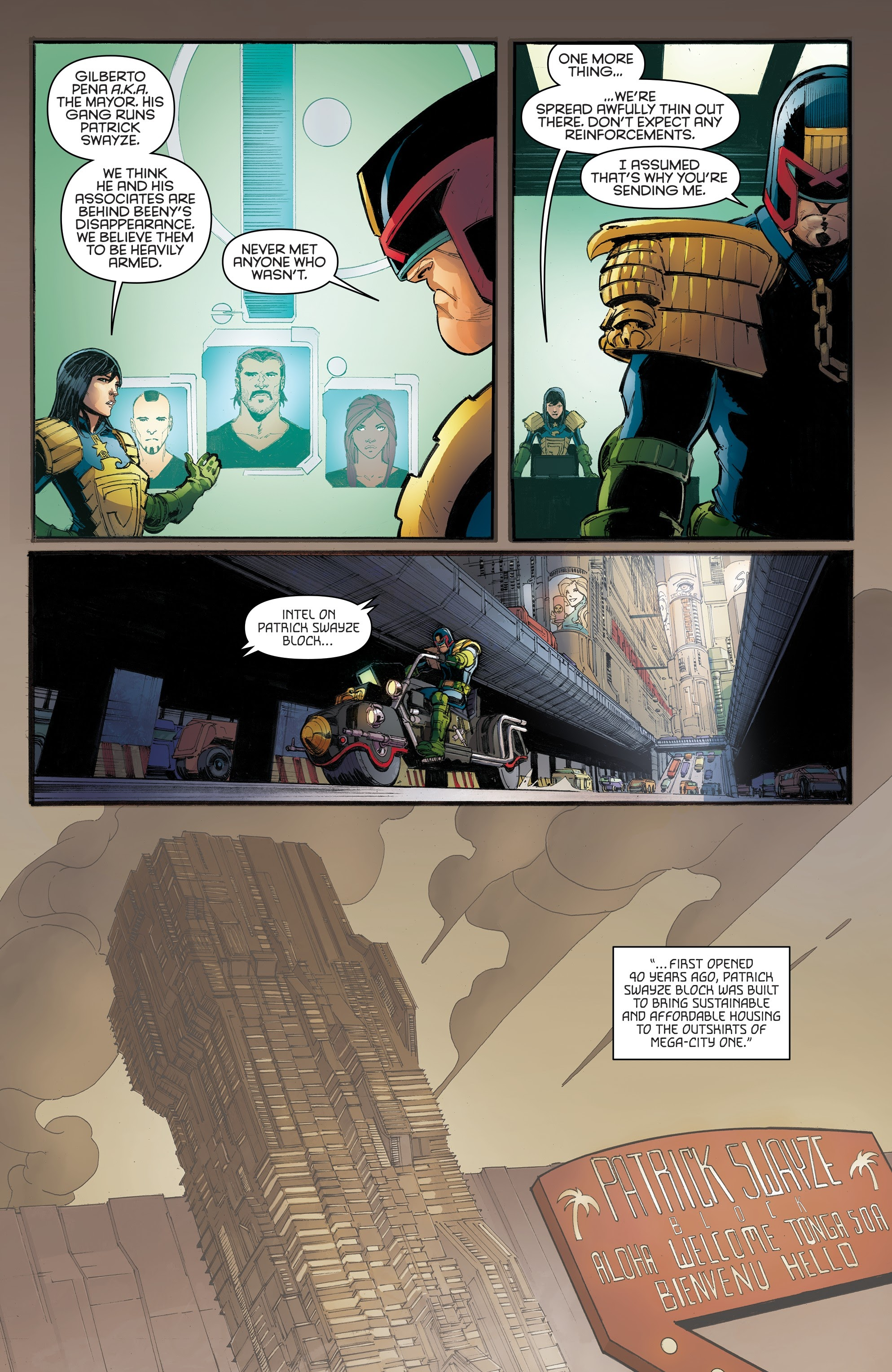 Judge Dredd: Toxic #4 #4 - English 32