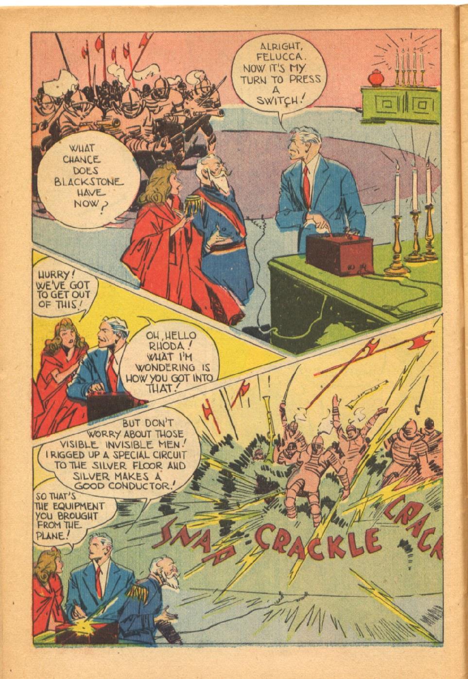 Read online Super-Magician Comics comic -  Issue #38 - 14