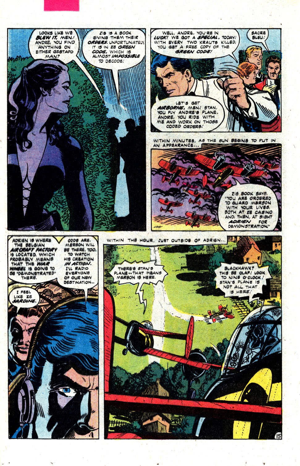 Read online Blackhawk (1957) comic -  Issue #252 - 19