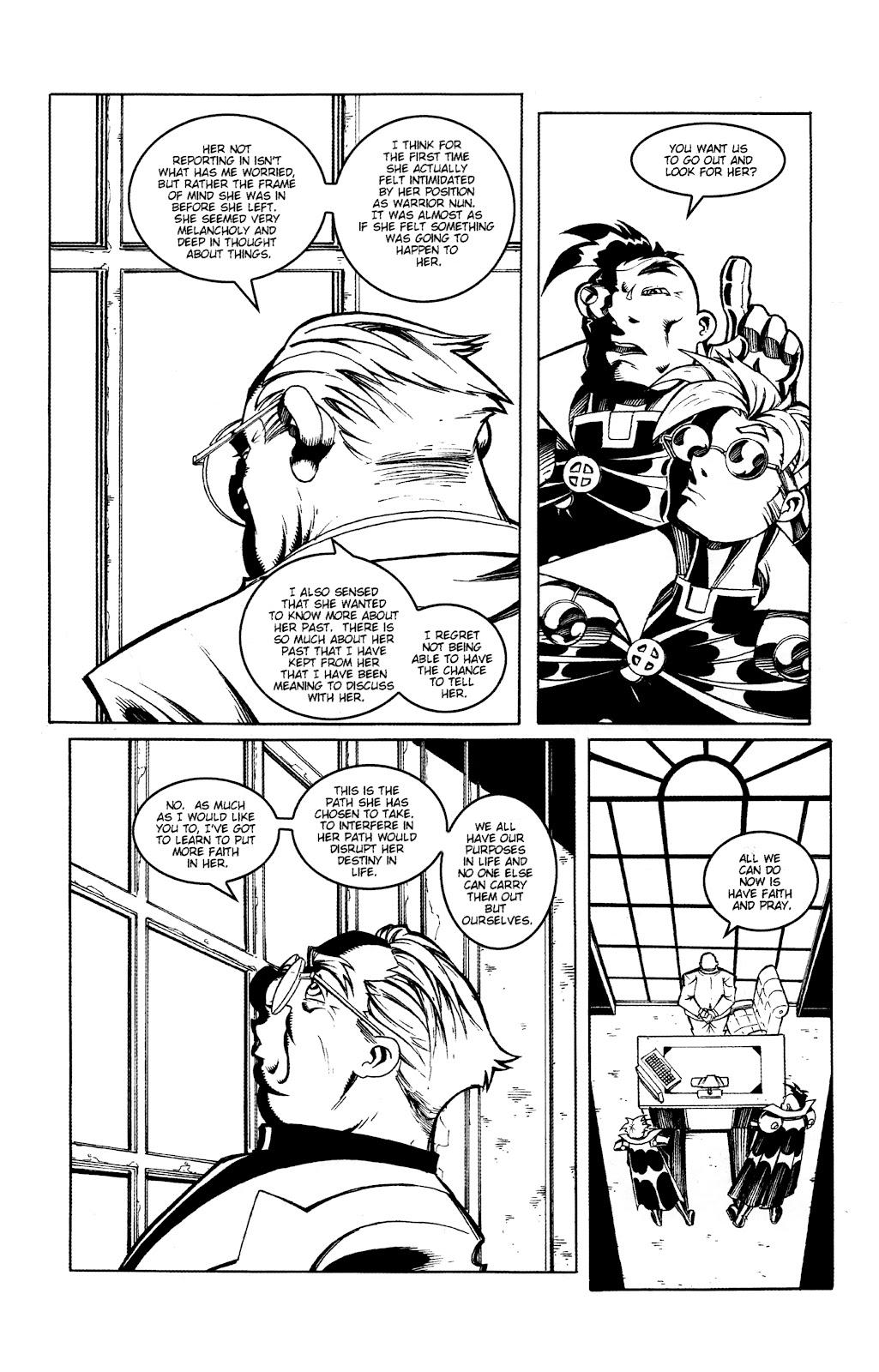 Warrior Nun Areala:  Dangerous Game Issue #2 #2 - English 9
