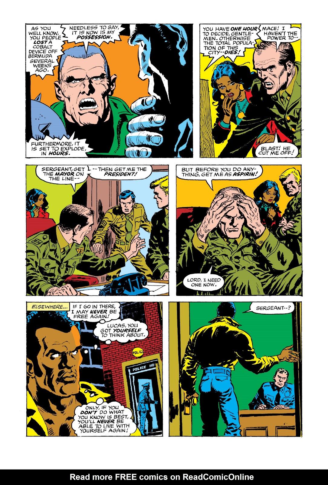 Read online Marvel Masterworks: Luke Cage, Power Man comic -  Issue # TPB 3 (Part 3) - 70