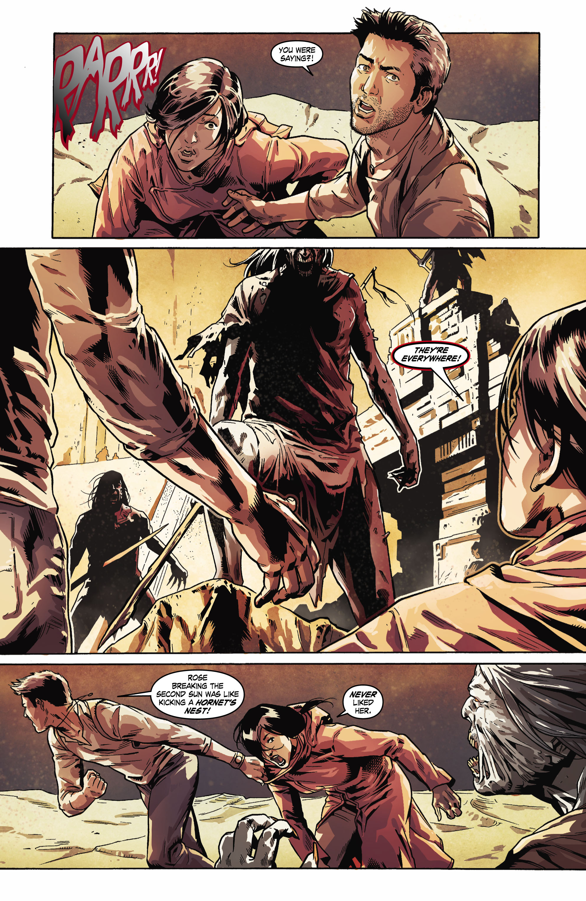 Read online Uncharted comic -  Issue #6 - 5
