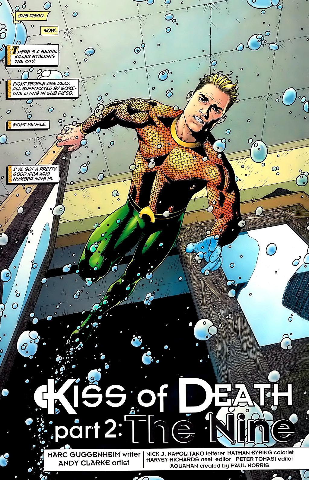 Read online Aquaman (2003) comic -  Issue #31 - 2