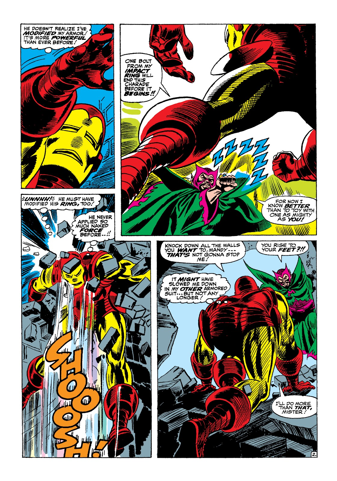 Read online Marvel Masterworks: The Invincible Iron Man comic -  Issue # TPB 4 (Part 1) - 34