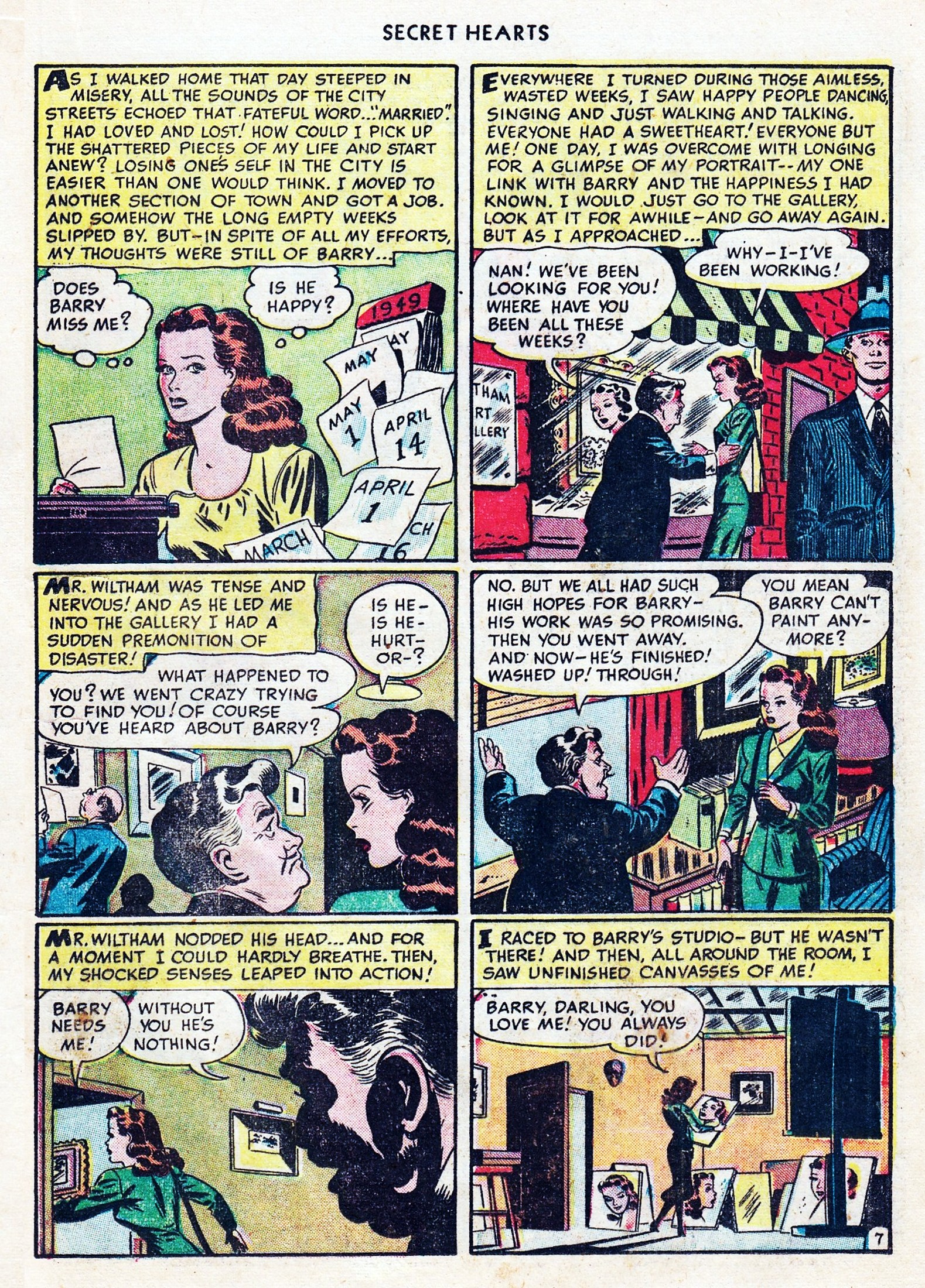 Read online Secret Hearts comic -  Issue #1 - 19