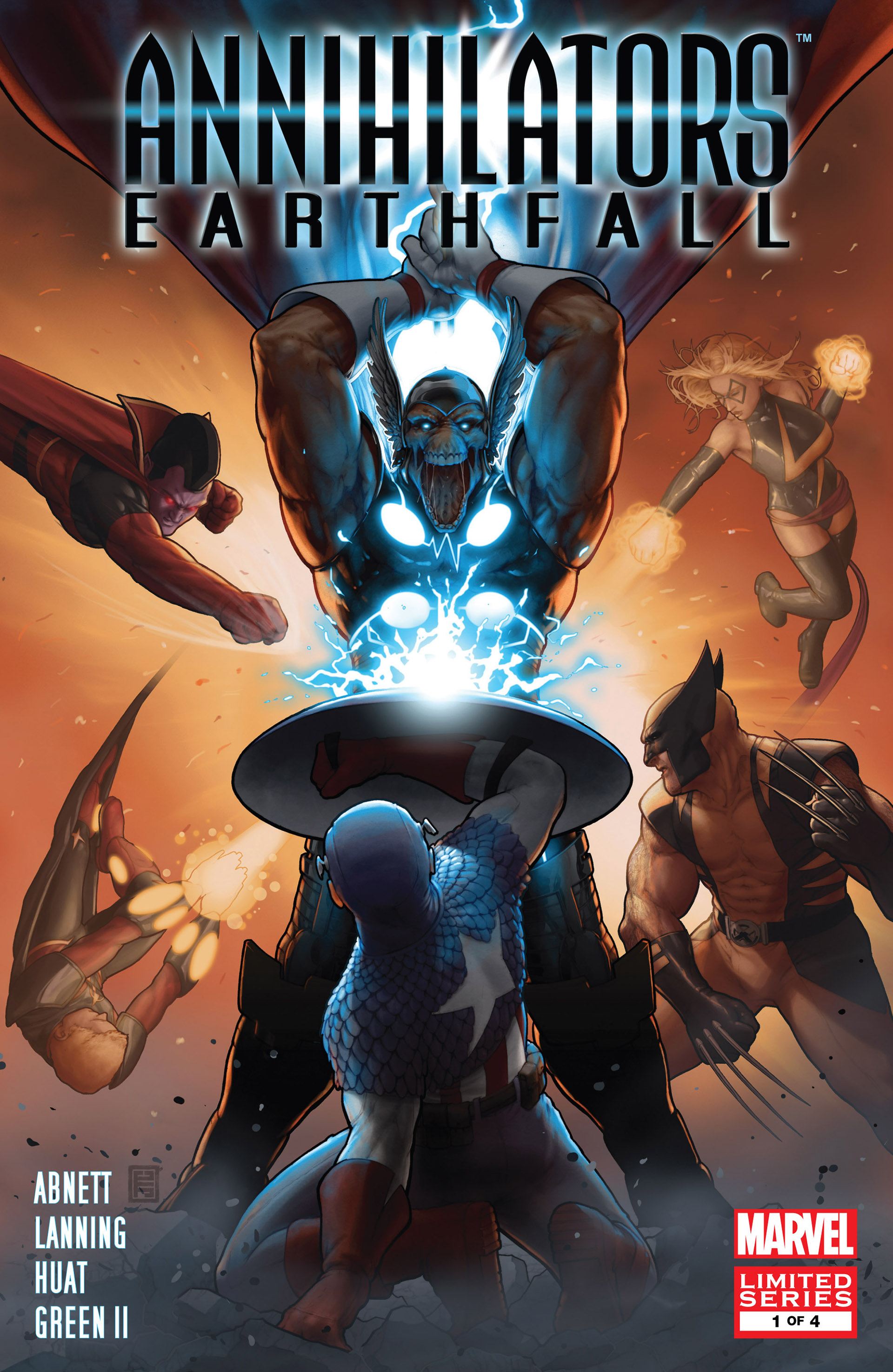 Read online Annihilators: Earthfall comic -  Issue #1 - 1