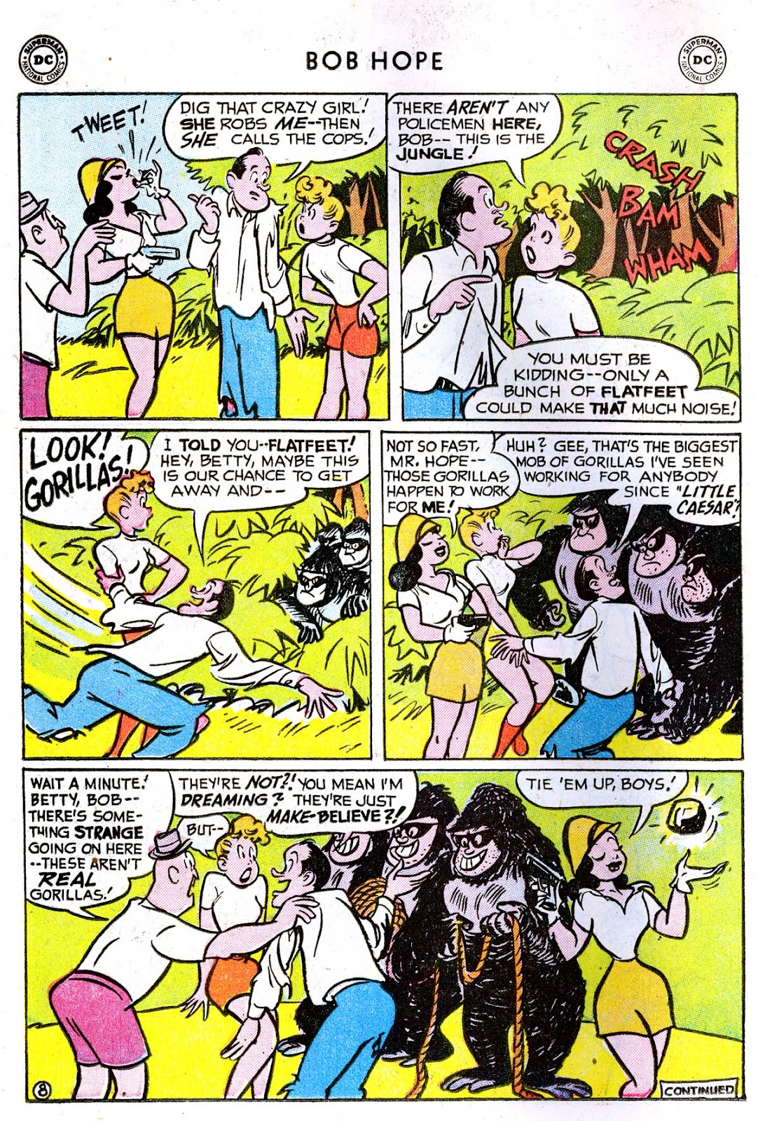 The Adventures of Bob Hope issue 33 - Page 22