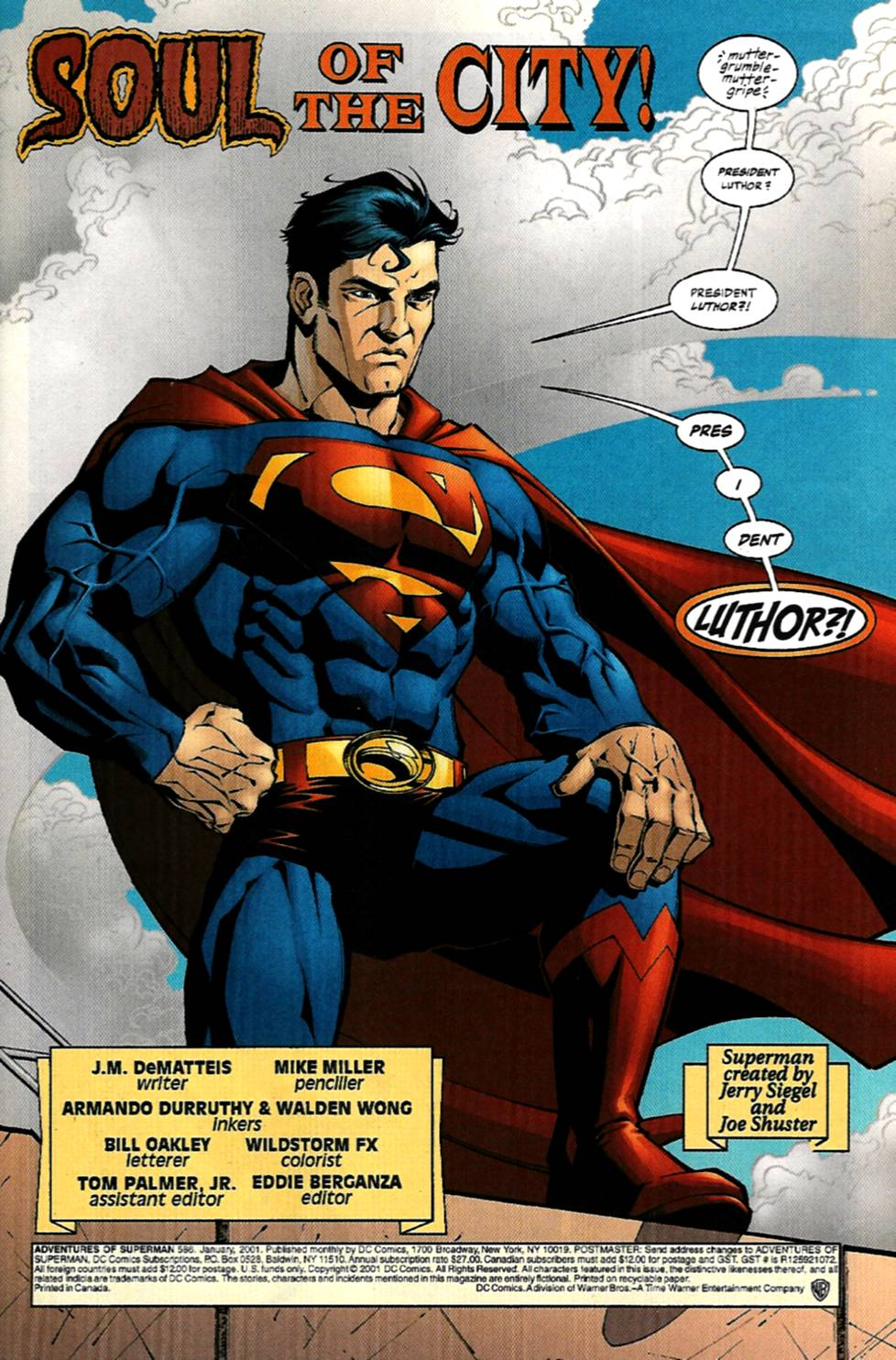 Read online Adventures of Superman (1987) comic -  Issue #586 - 2