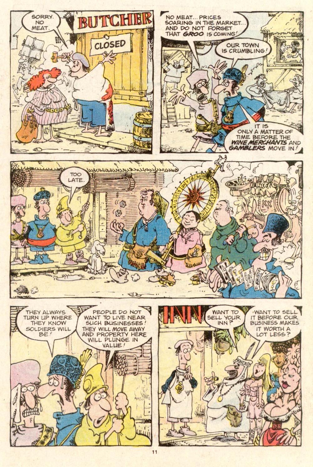 Read online Sergio Aragonés Groo the Wanderer comic -  Issue #37 - 11