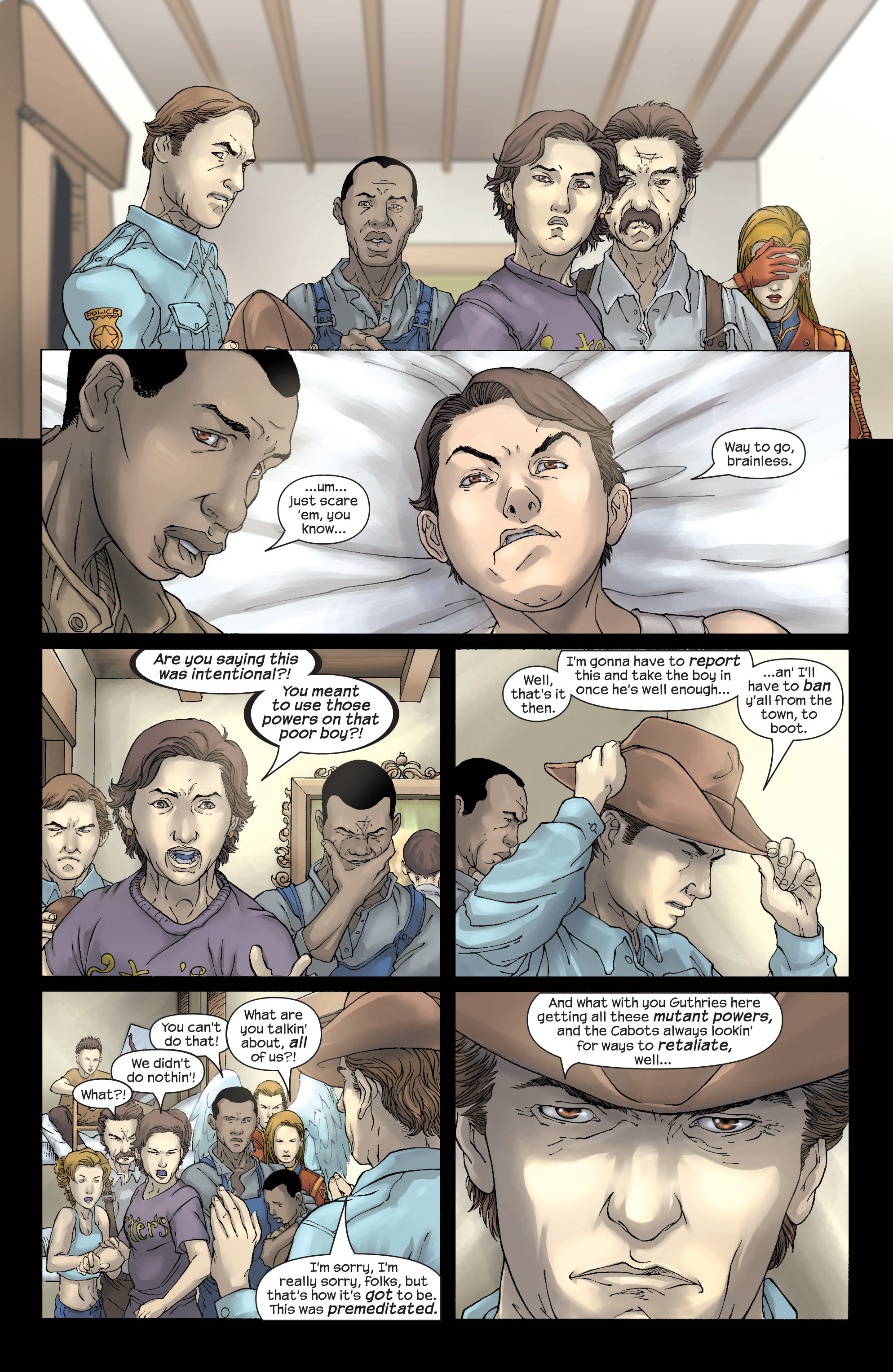 Read online Uncanny X-Men (1963) comic -  Issue #437 - 16
