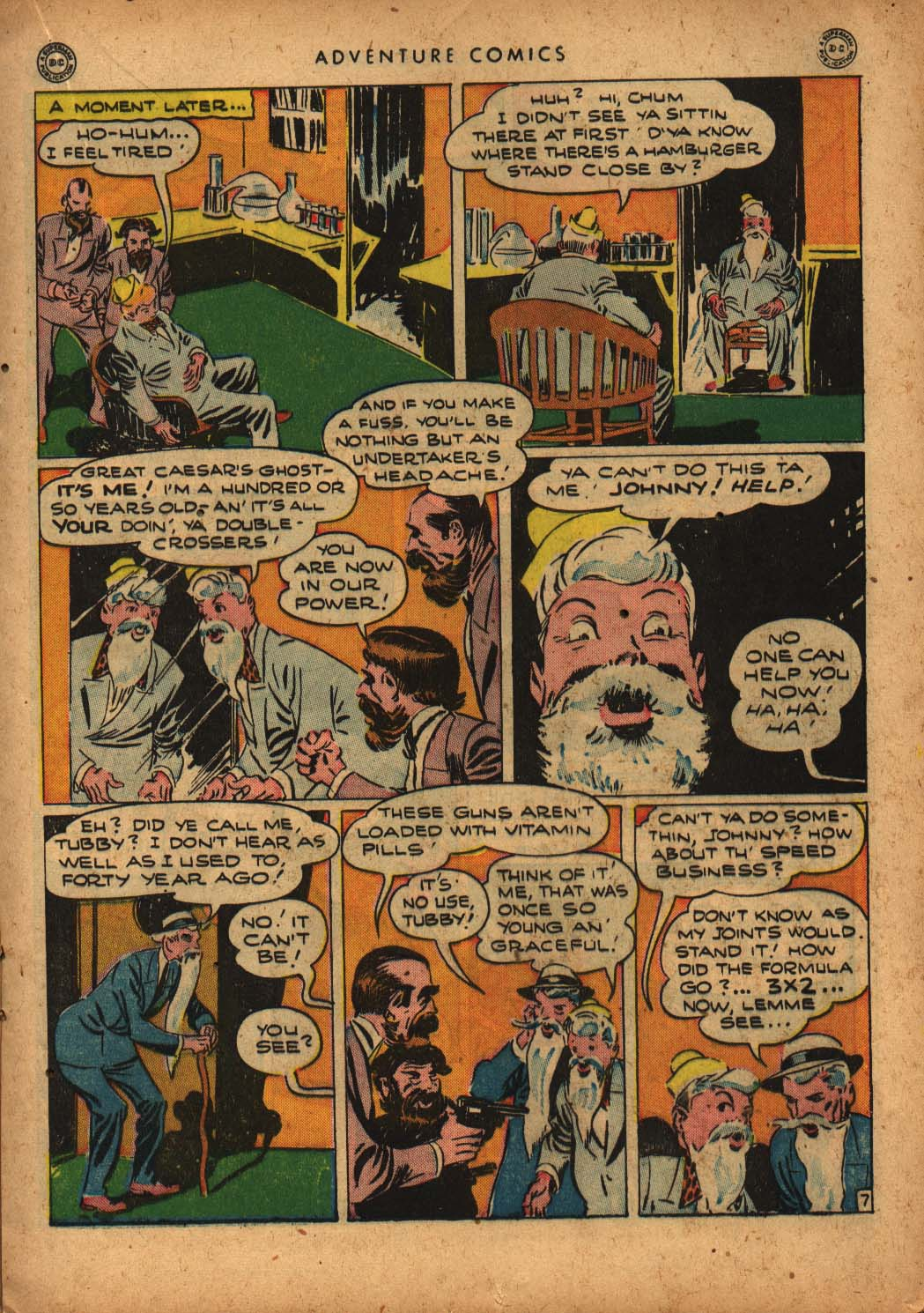 Read online Adventure Comics (1938) comic -  Issue #109 - 25