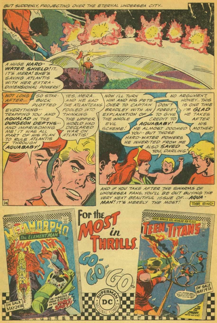 Read online Aquaman (1962) comic -  Issue #28 - 32
