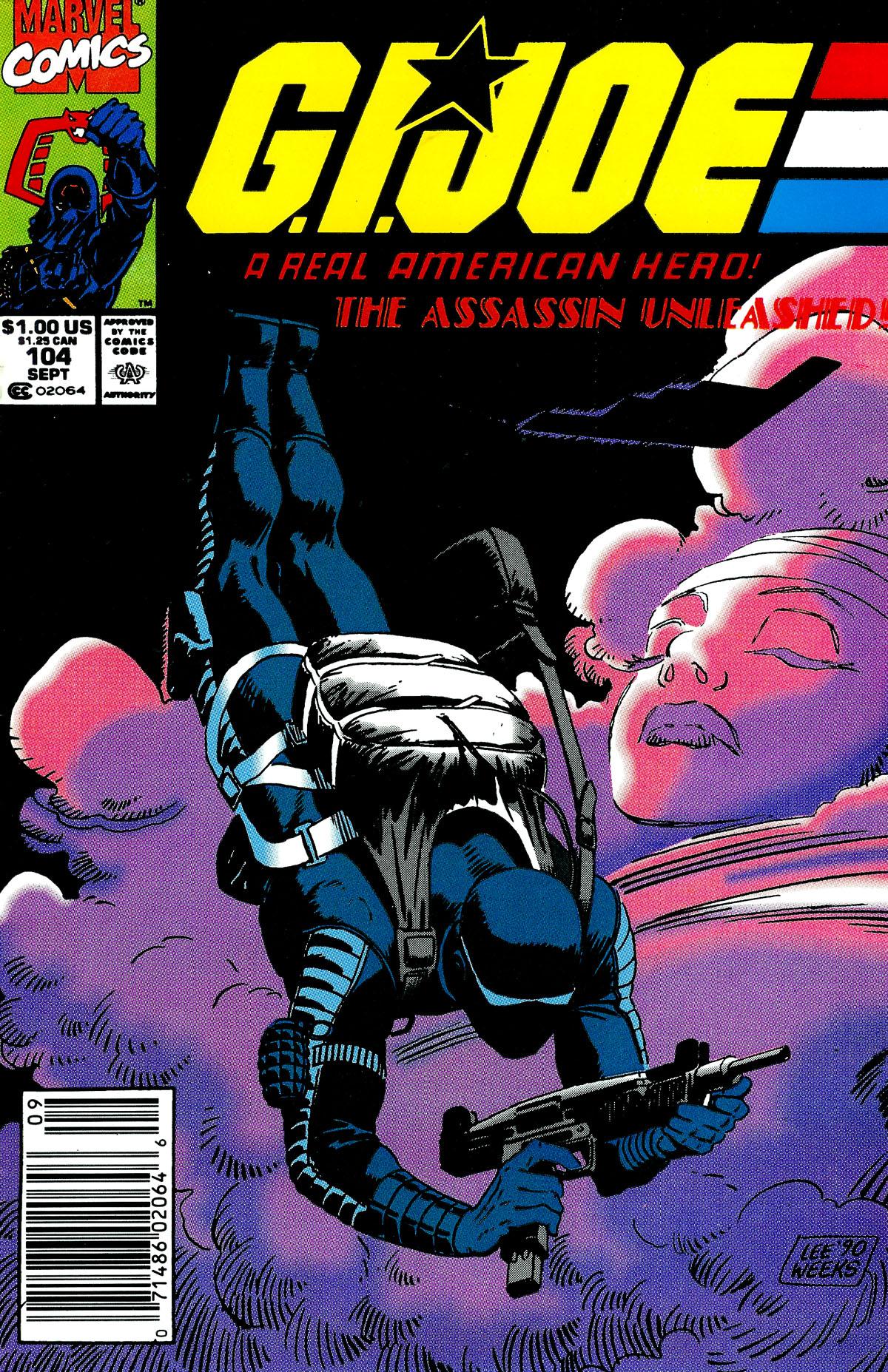 G.I. Joe: A Real American Hero 104 Page 1