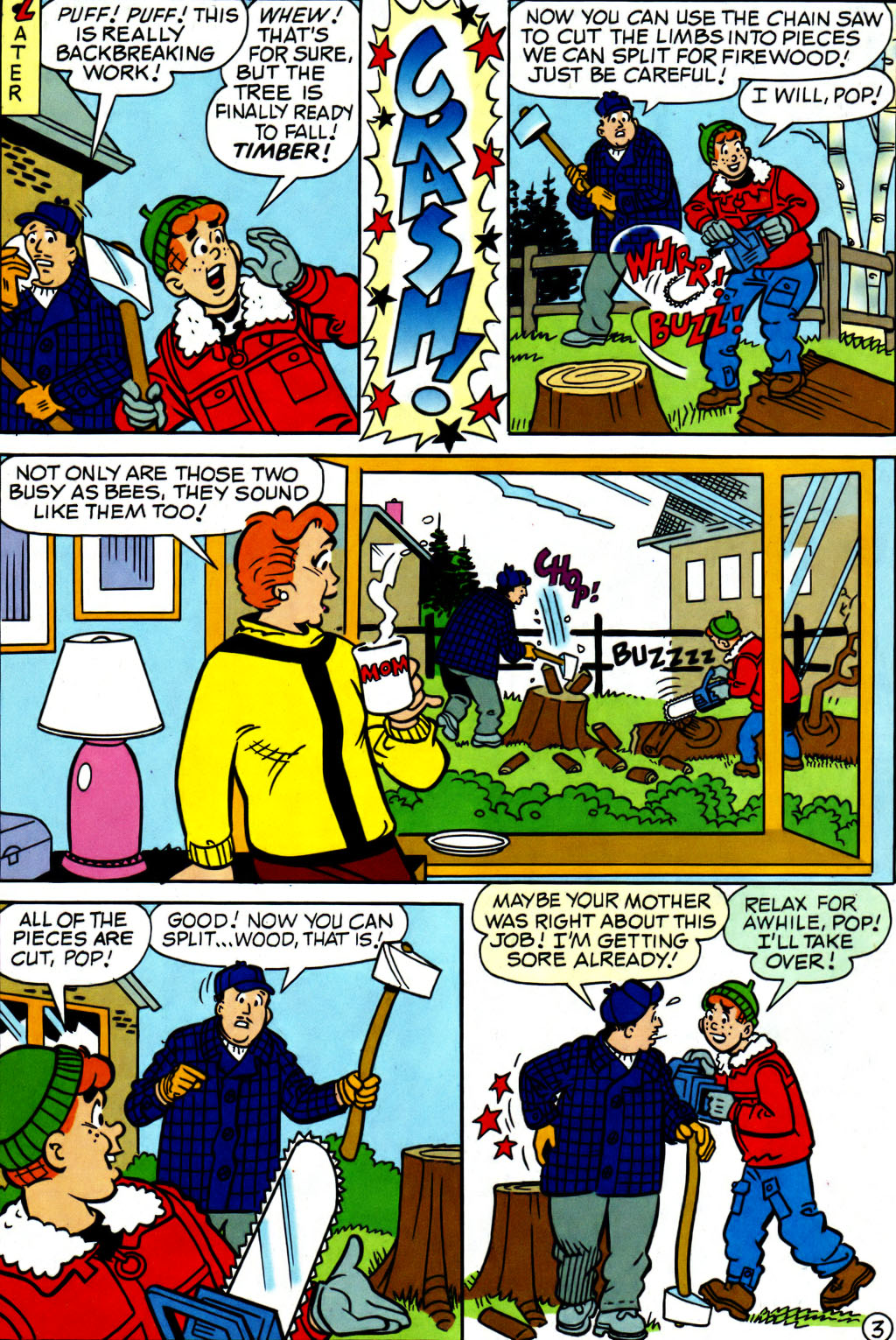 Read online Archie (1960) comic -  Issue #562 - 15