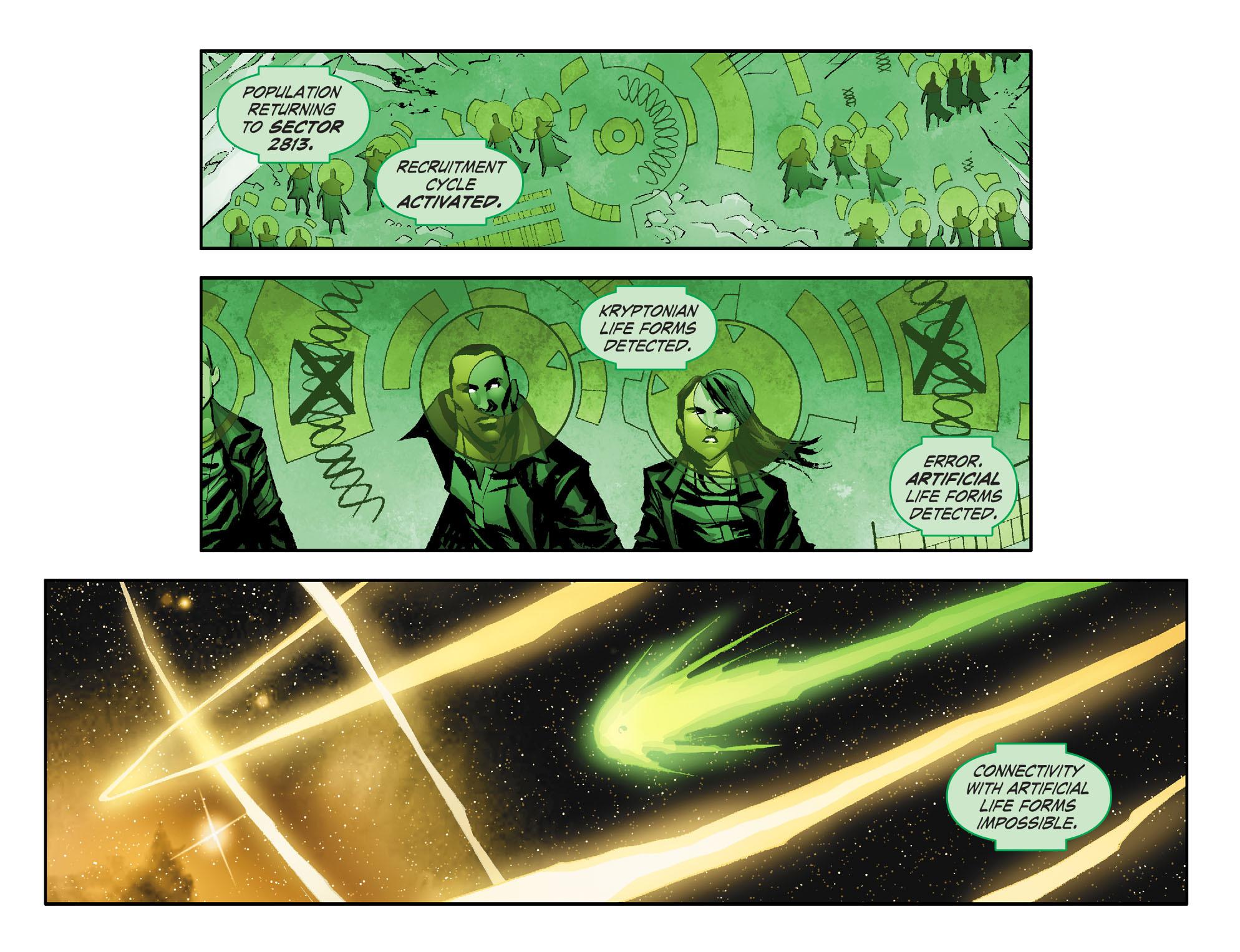 Read online Smallville: Lantern [I] comic -  Issue #1 - 9