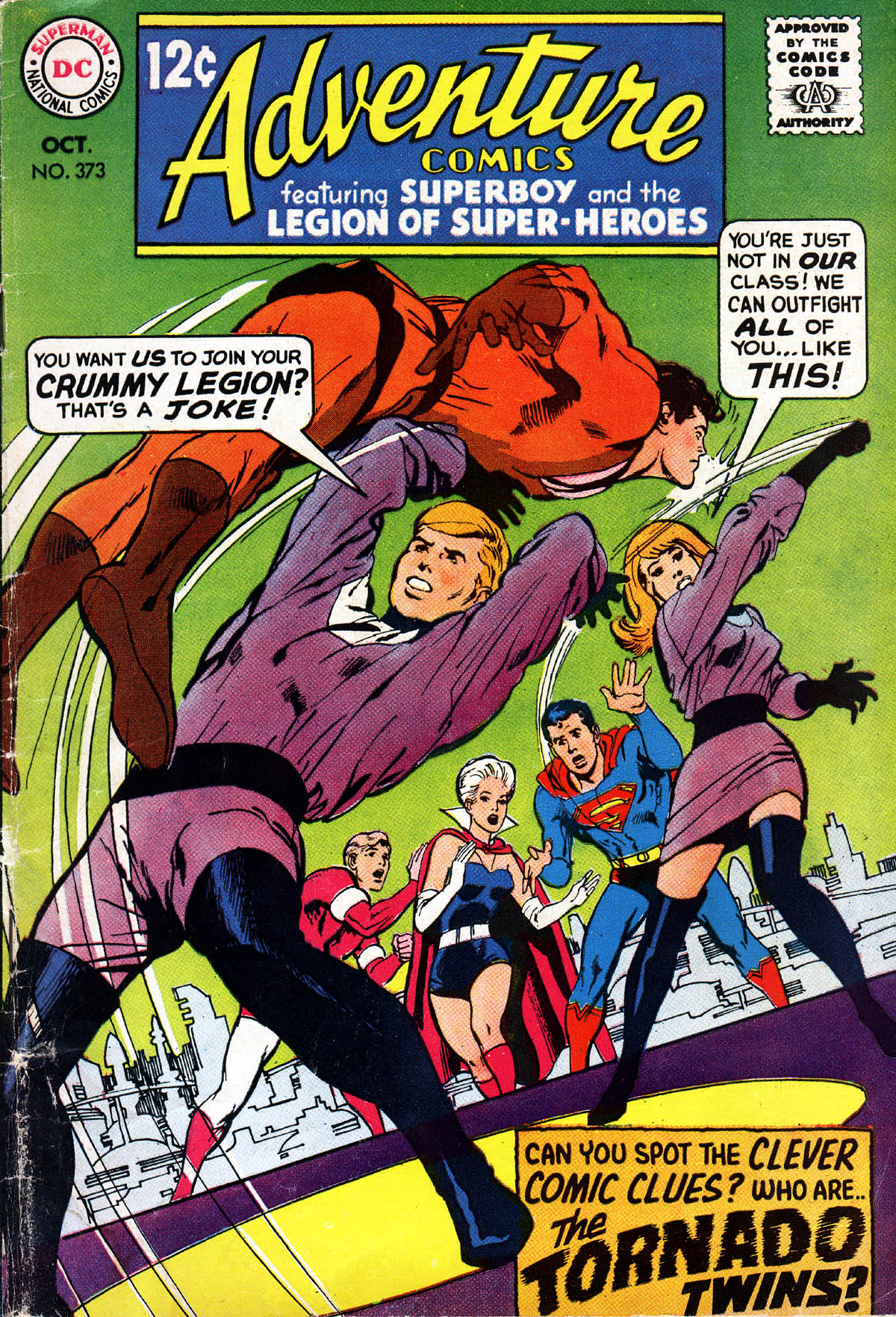 Read online Adventure Comics (1938) comic -  Issue #373 - 1