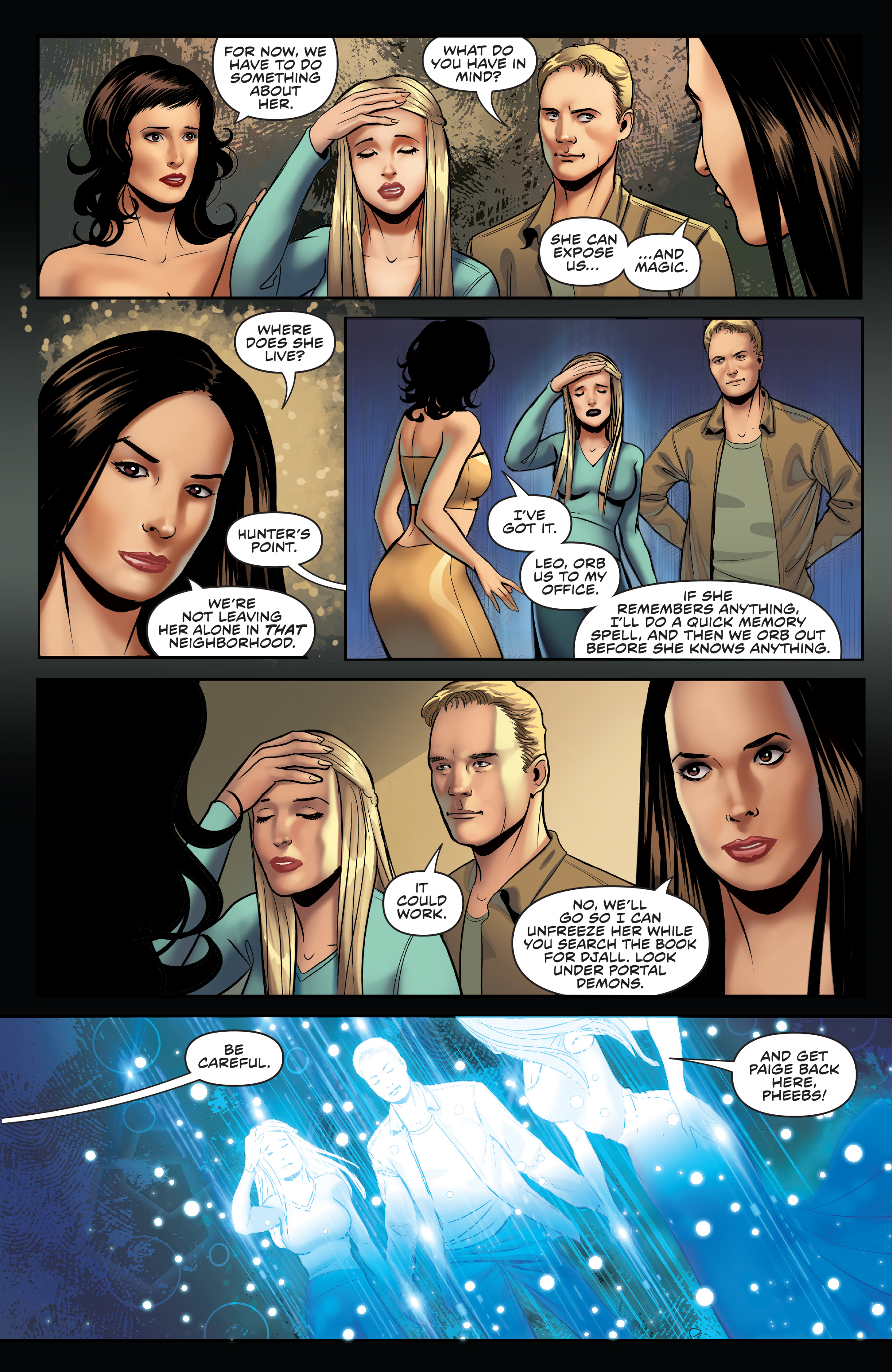 Read online Charmed (2017) comic -  Issue #3 - 15