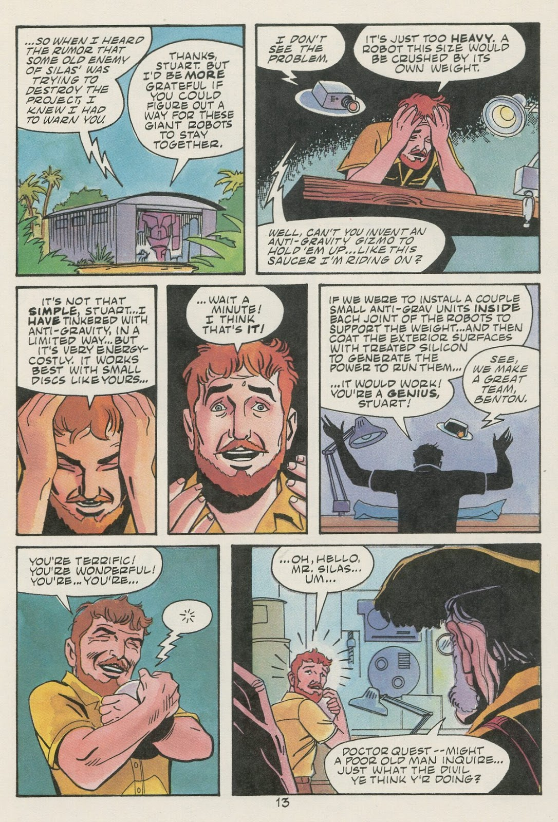 Jonny Quest (1986) issue 17 - Page 15
