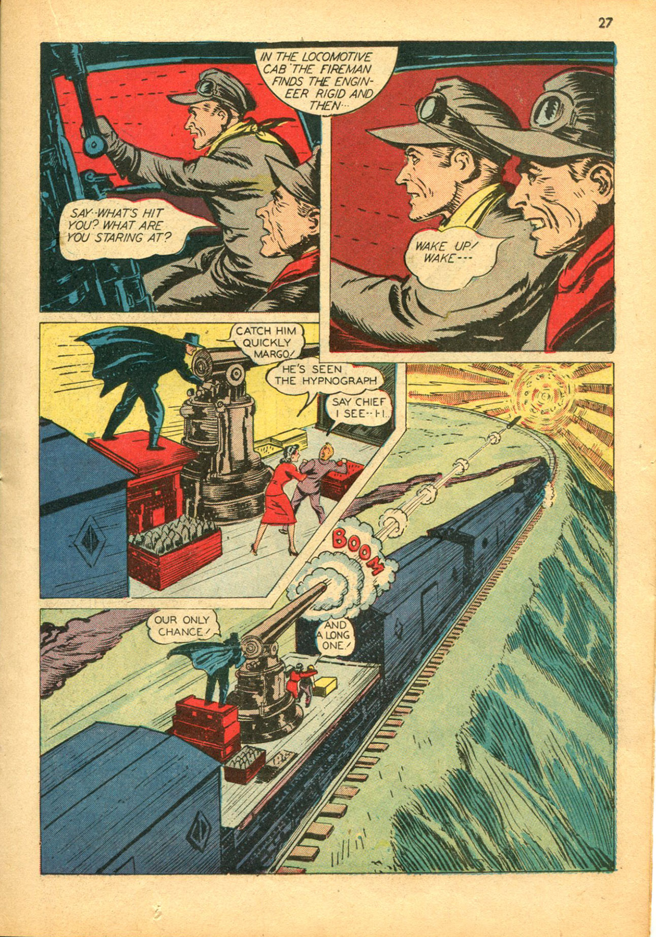 Read online Shadow Comics comic -  Issue #30 - 27
