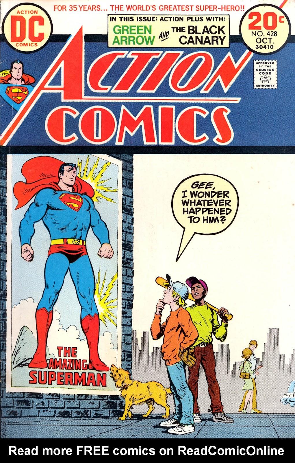Action Comics (1938) 428 Page 1
