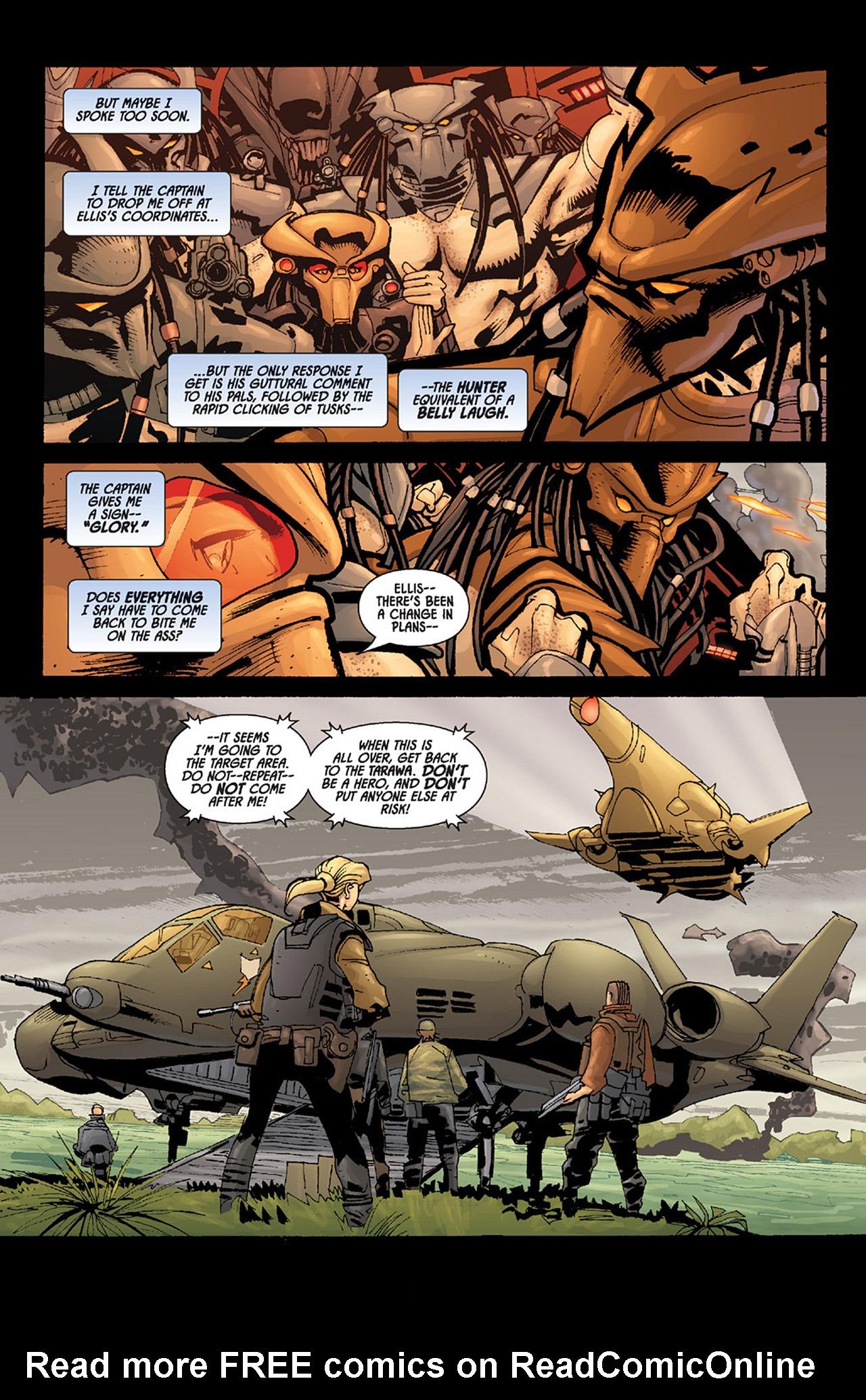 Read online Aliens vs. Predator: Three World War comic -  Issue #6 - 8