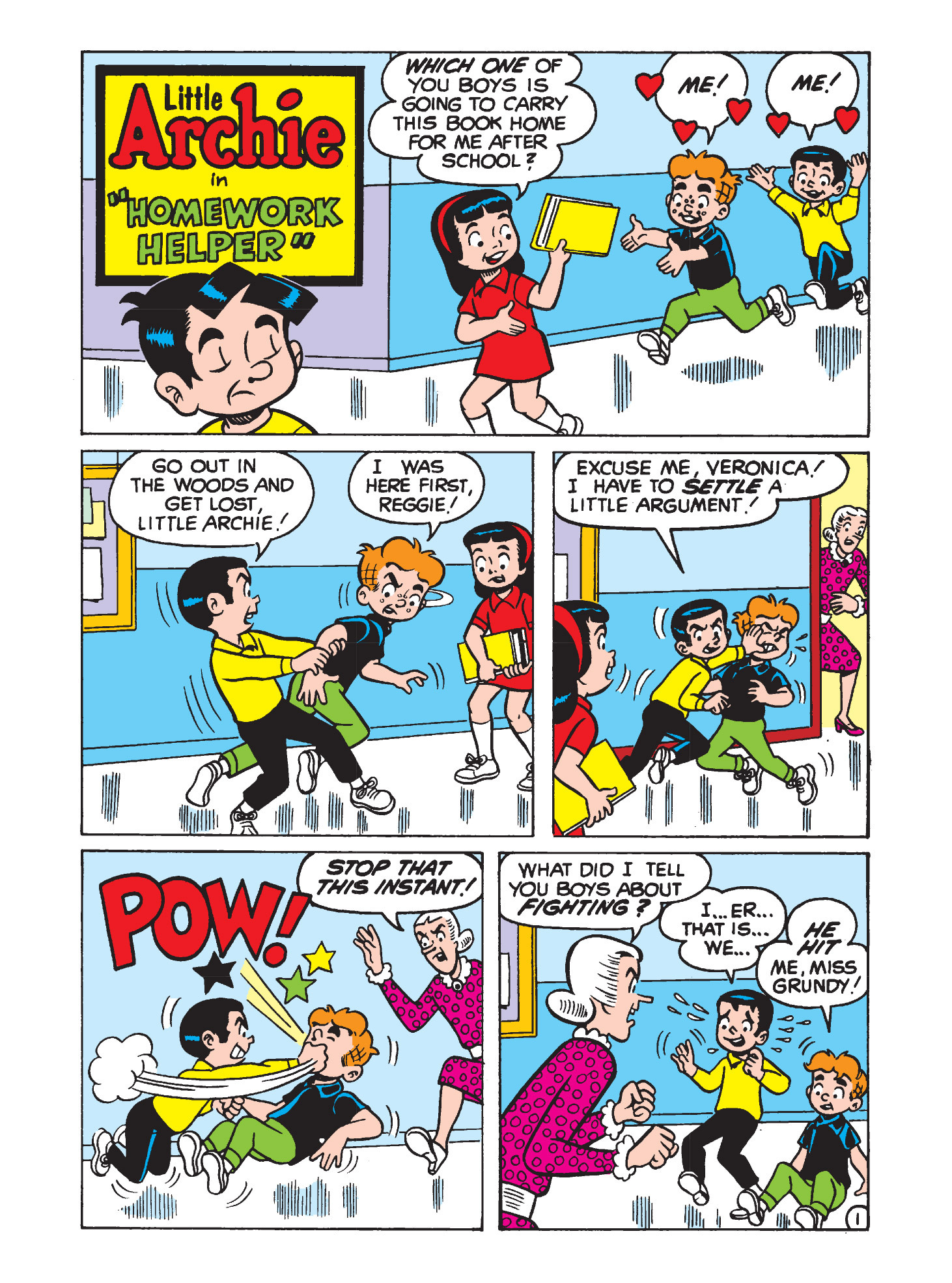 Read online Archie's Funhouse Double Digest comic -  Issue #3 - 141