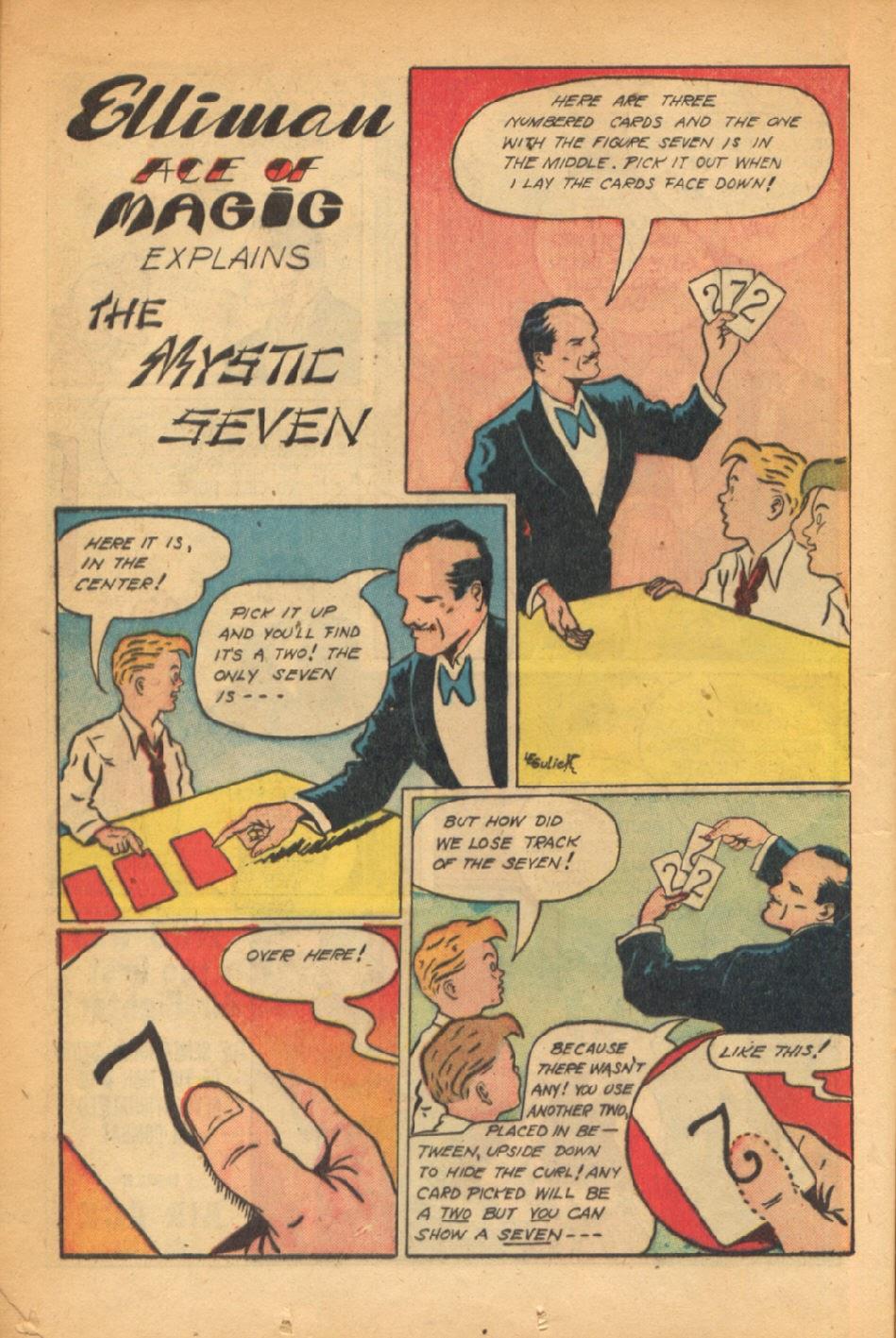 Read online Super-Magician Comics comic -  Issue #54 - 19