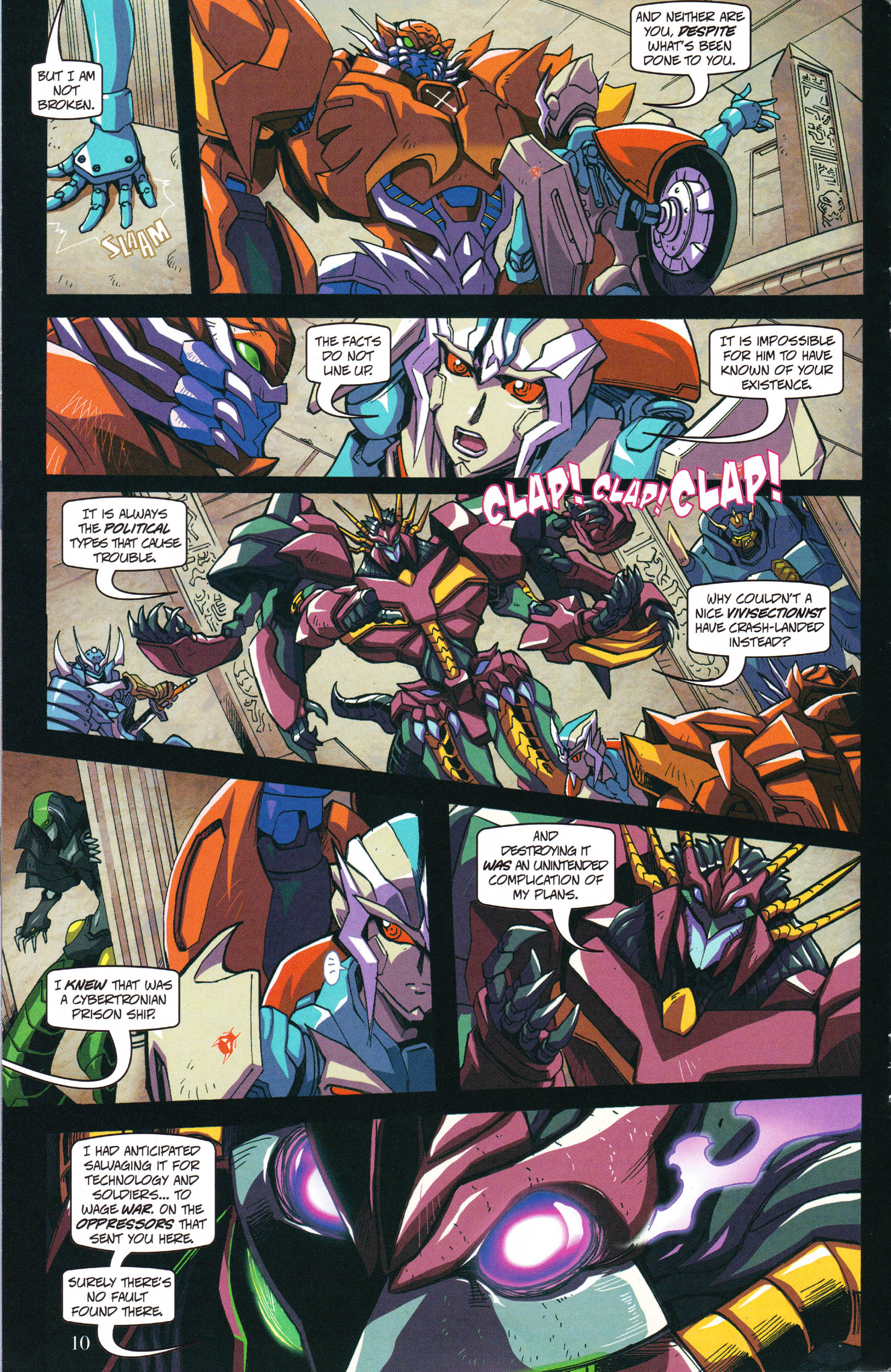 Read online Transformers: Collectors' Club comic -  Issue #59 - 10