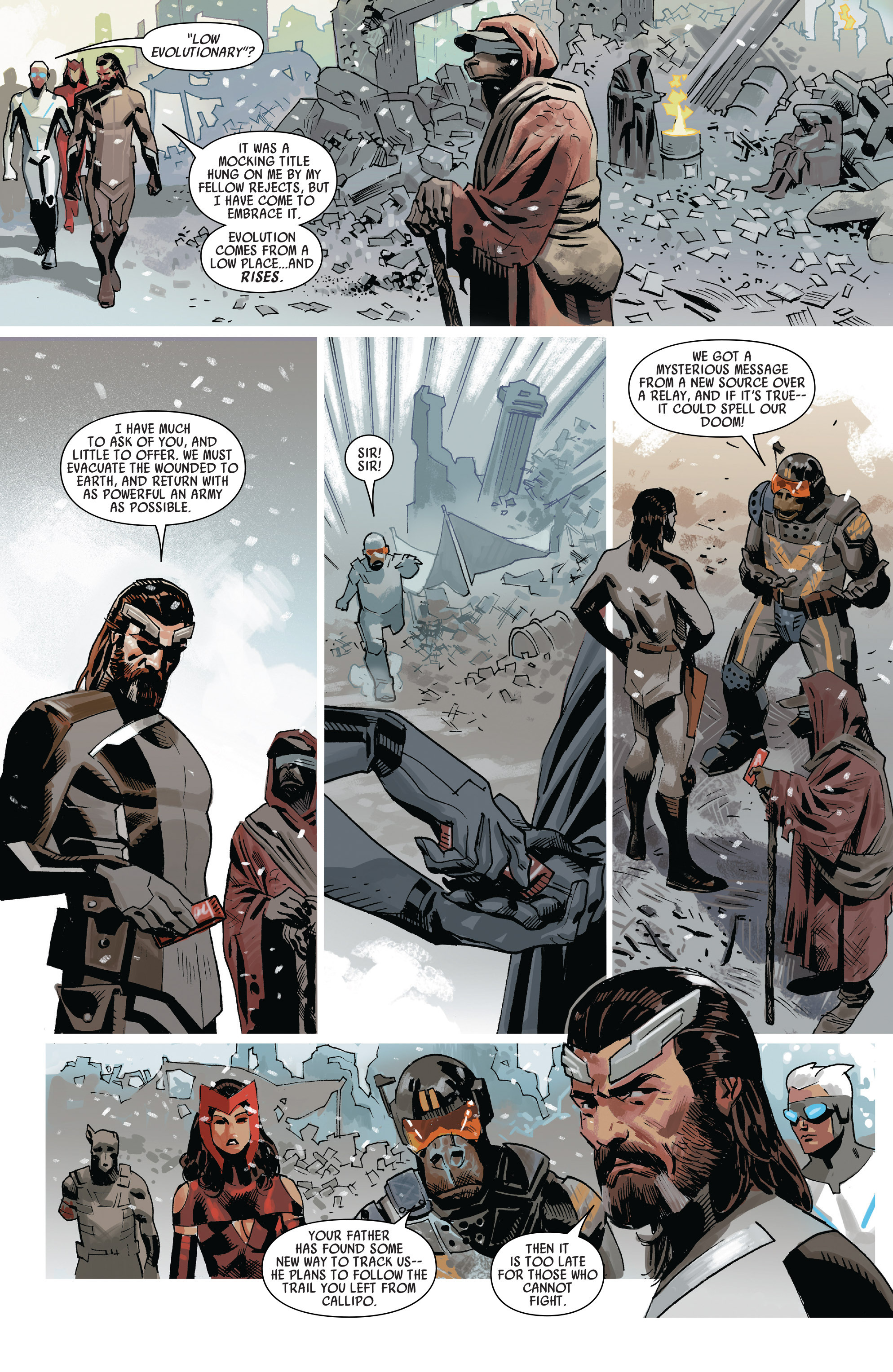 Read online Uncanny Avengers [I] comic -  Issue #3 - 11